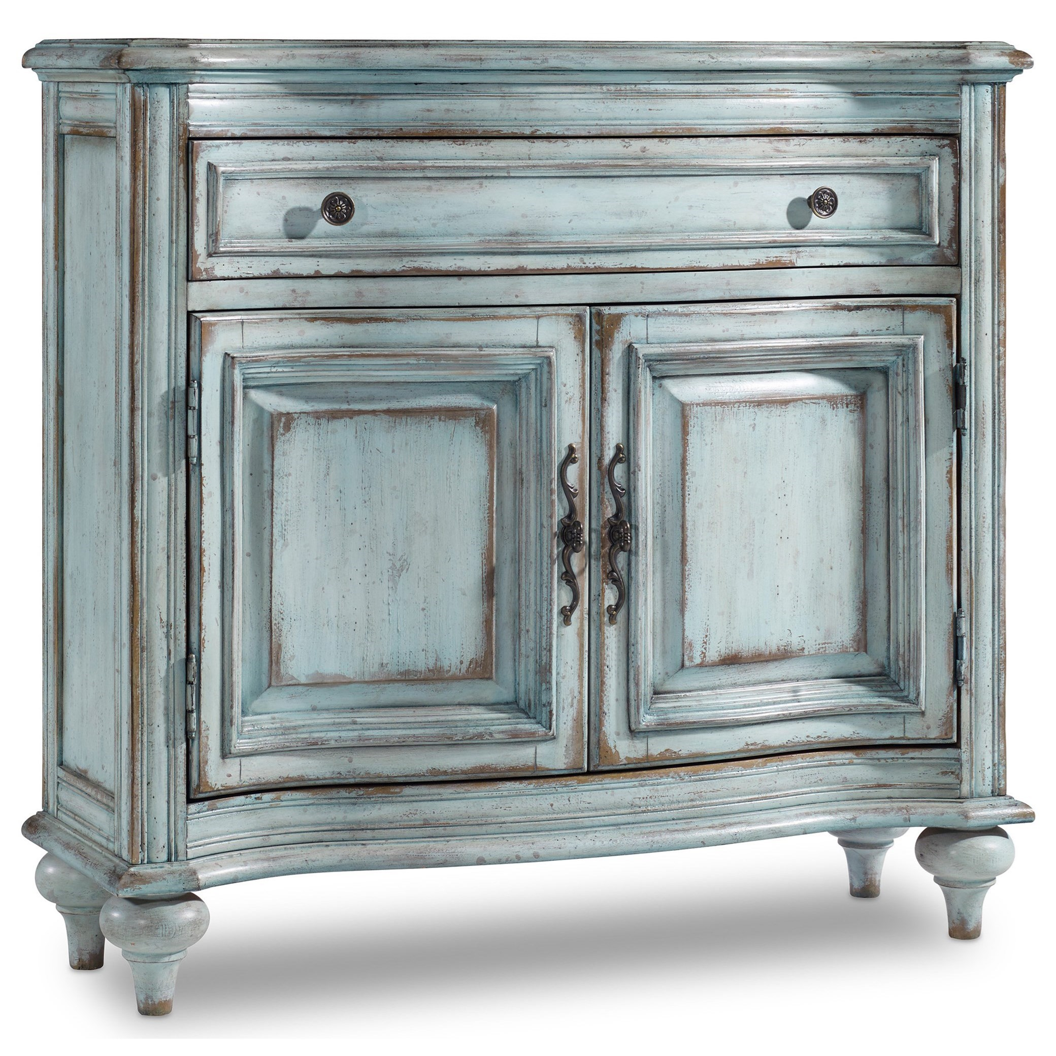 Living Room Accents 1-Drawer, 2-Door Chest by Hooker Furniture at Mueller Furniture