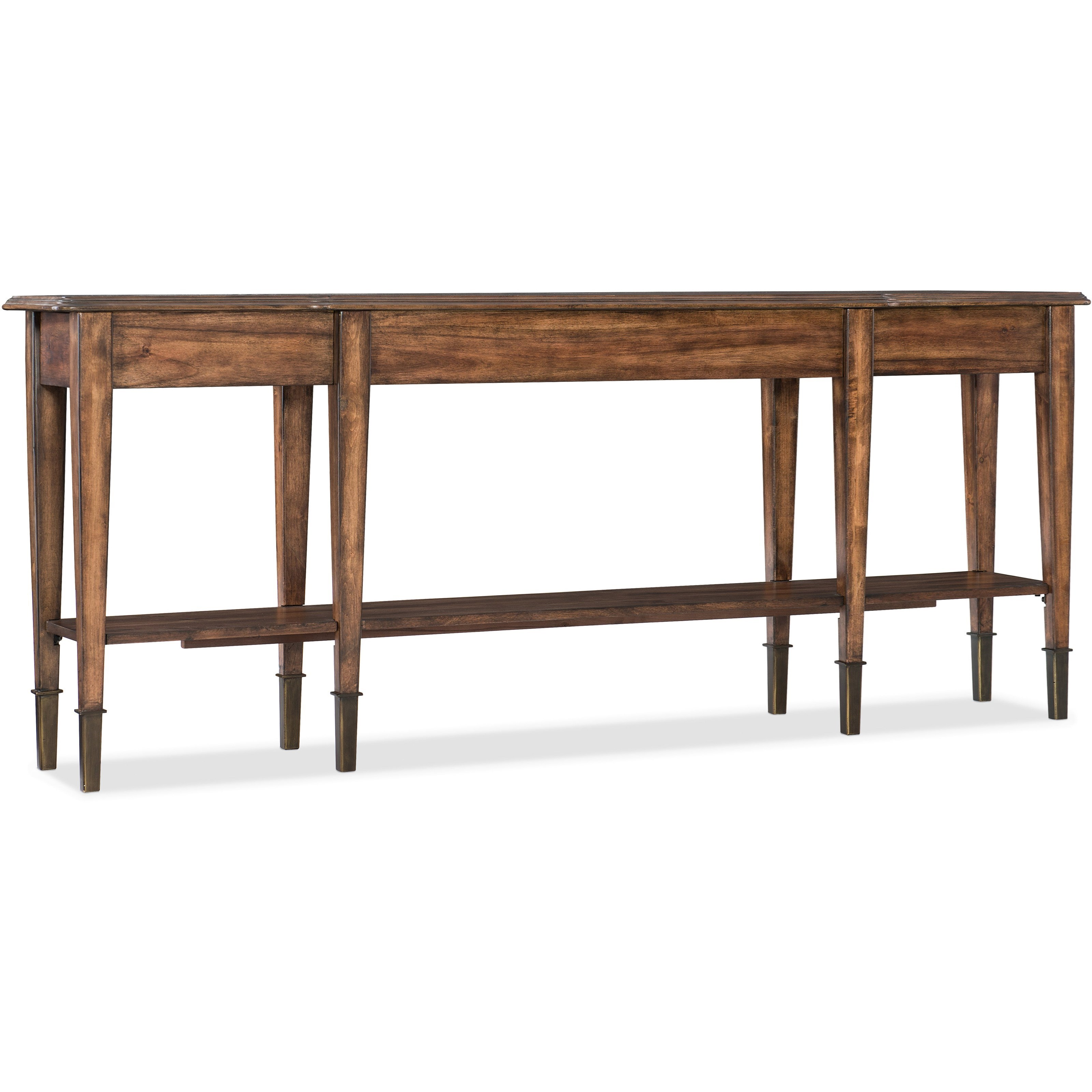 Living Room Accents Skinny Console Table by Hooker Furniture at Zak's Home
