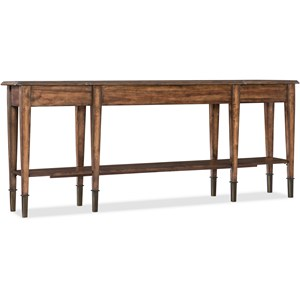Skinny Console Table with 2 Drawers