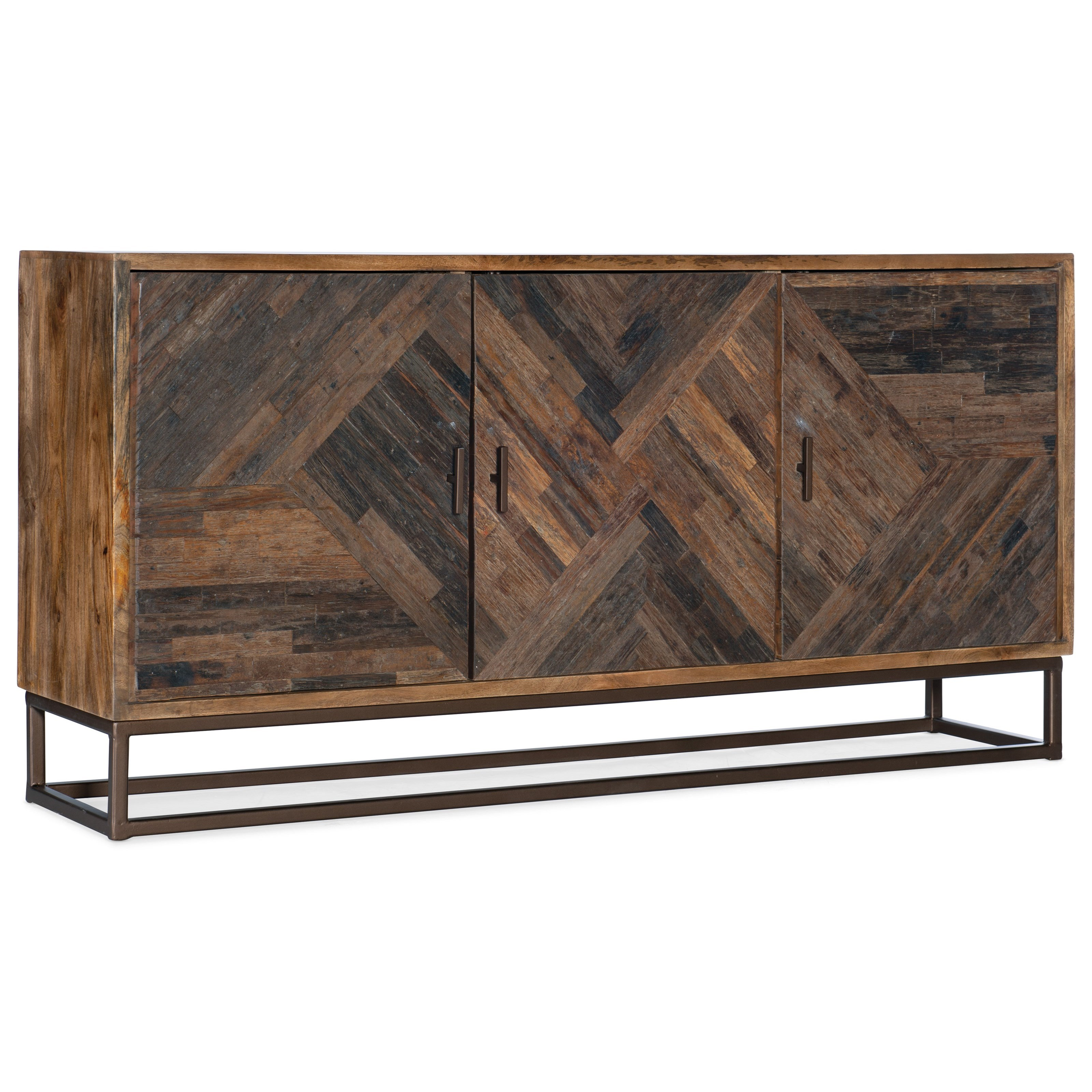 Living Room Accents Entertainment Console by Hooker Furniture at Mueller Furniture