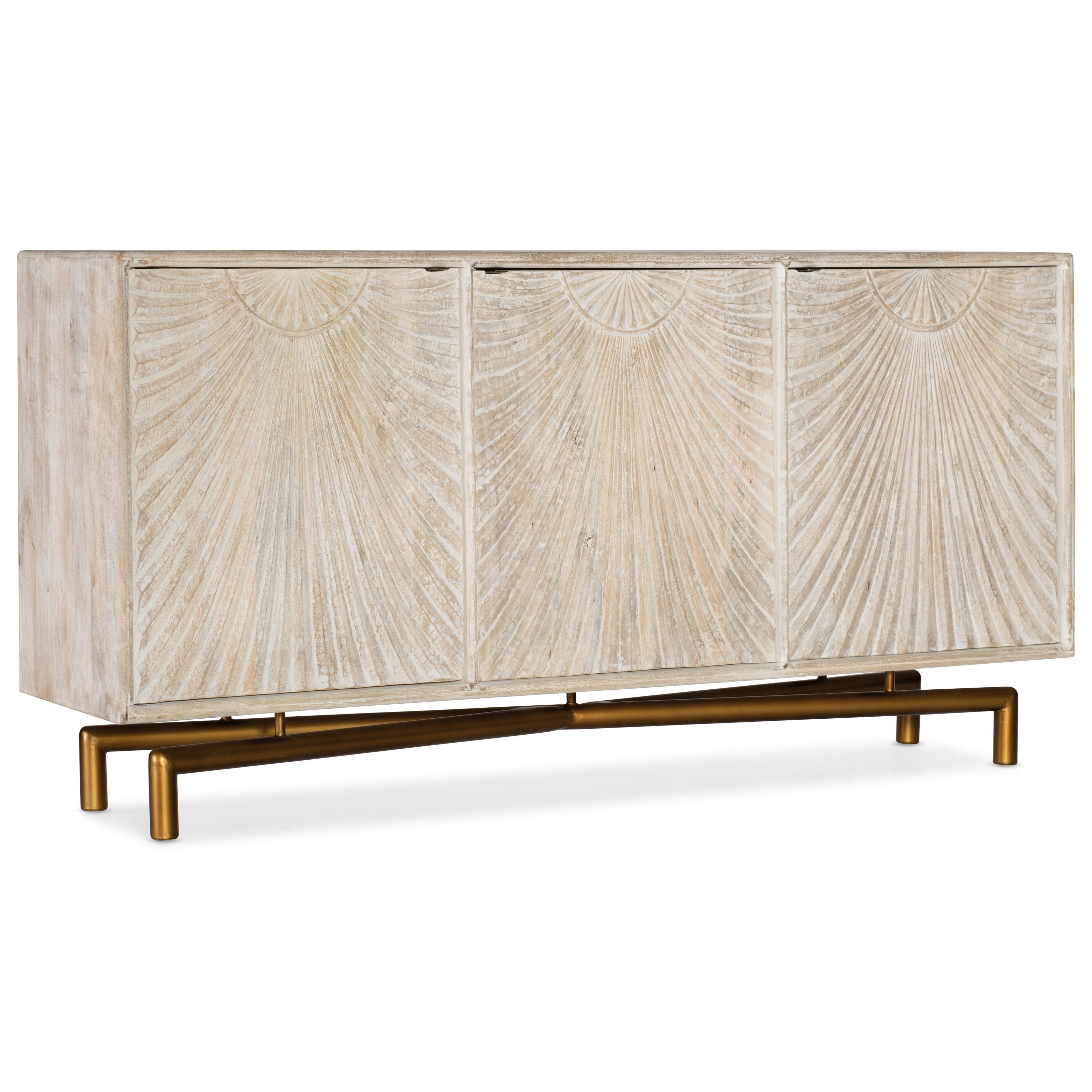 Living Room Accents Entertainment Console by Hooker Furniture at Baer's Furniture
