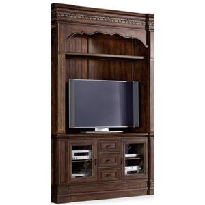 Hooker Furniture Adagio Entertainment Console with Hutch