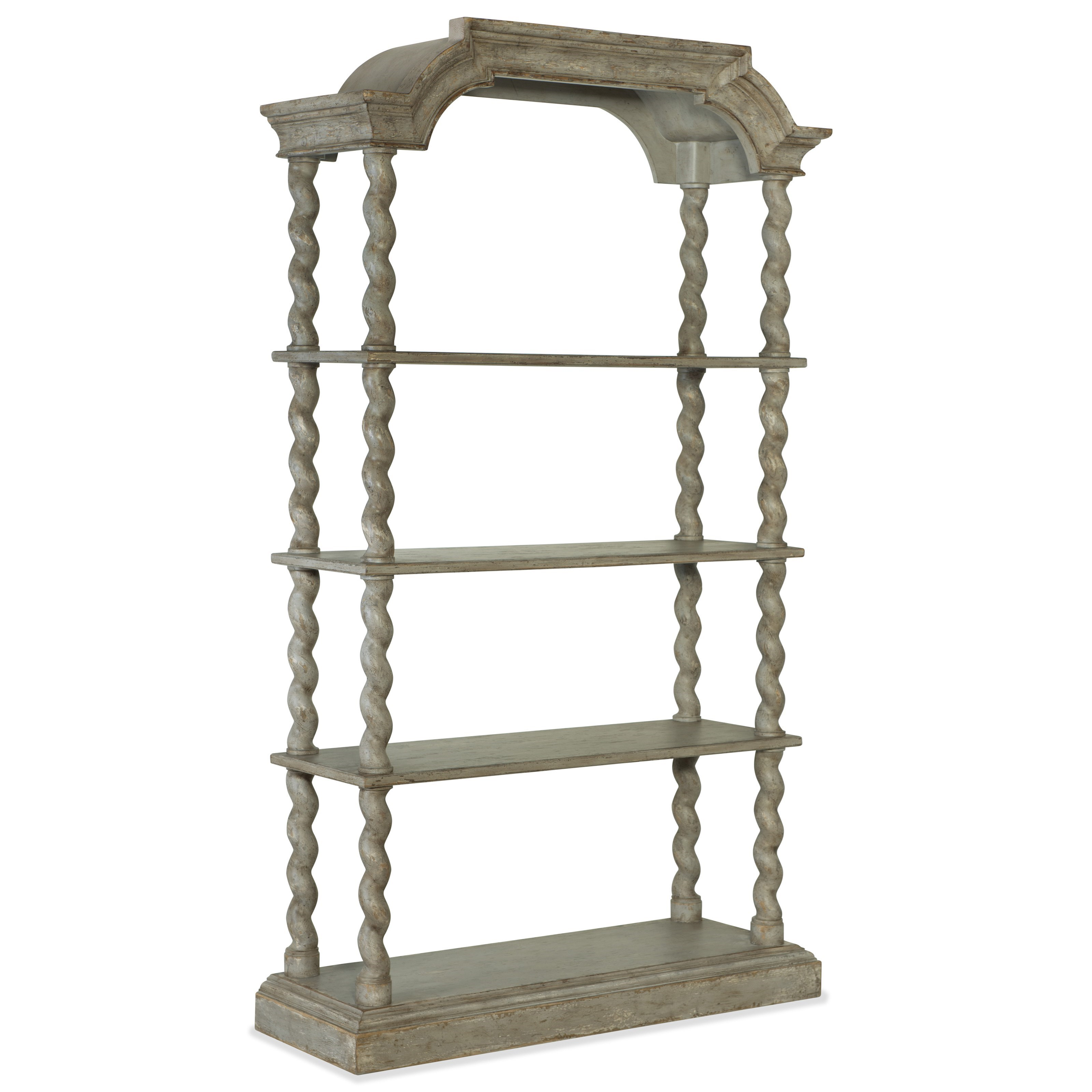 Alfresco Lettore Etagere by Hooker Furniture at Baer's Furniture