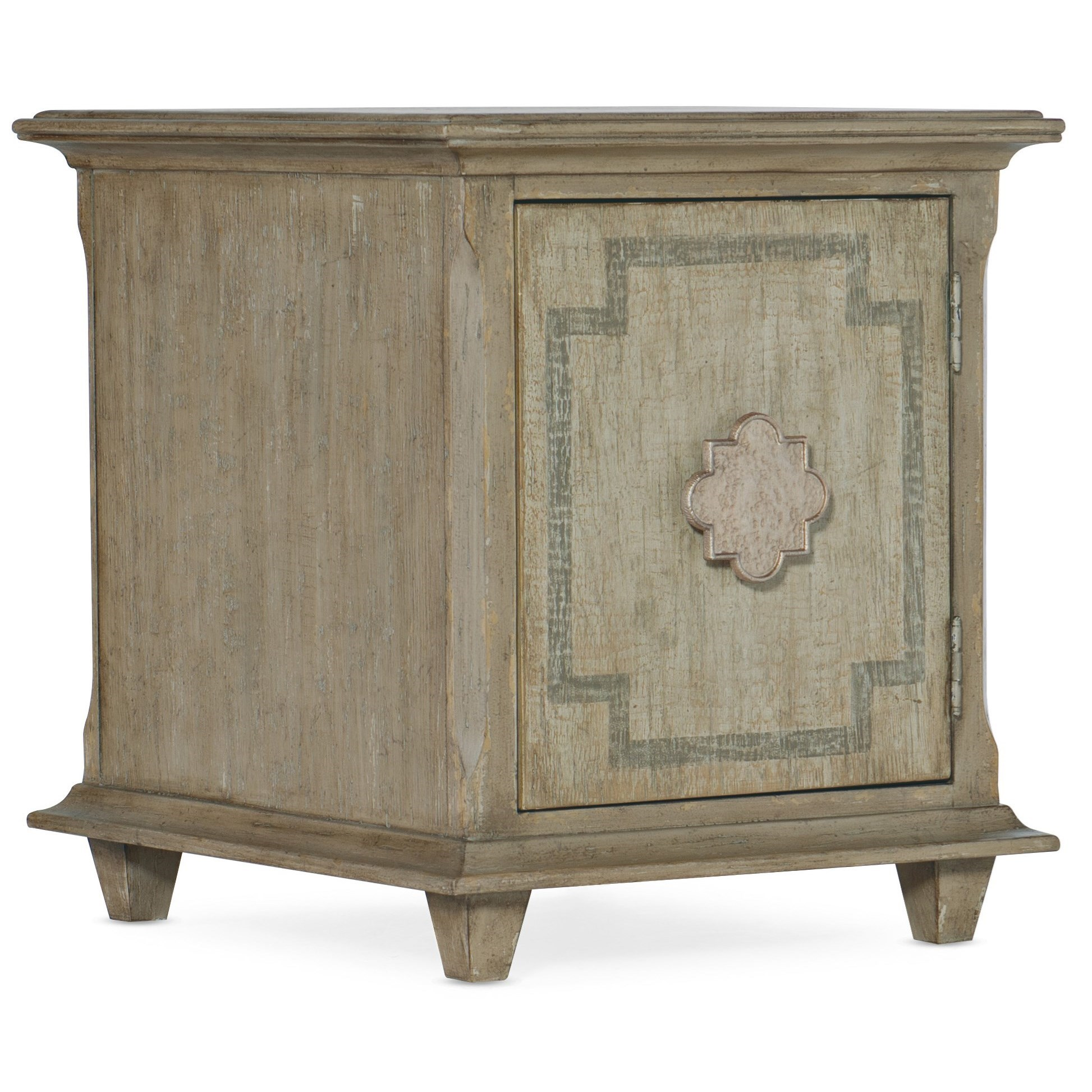 Alfresco Poltrona Chairside Chest by Hooker Furniture at Suburban Furniture