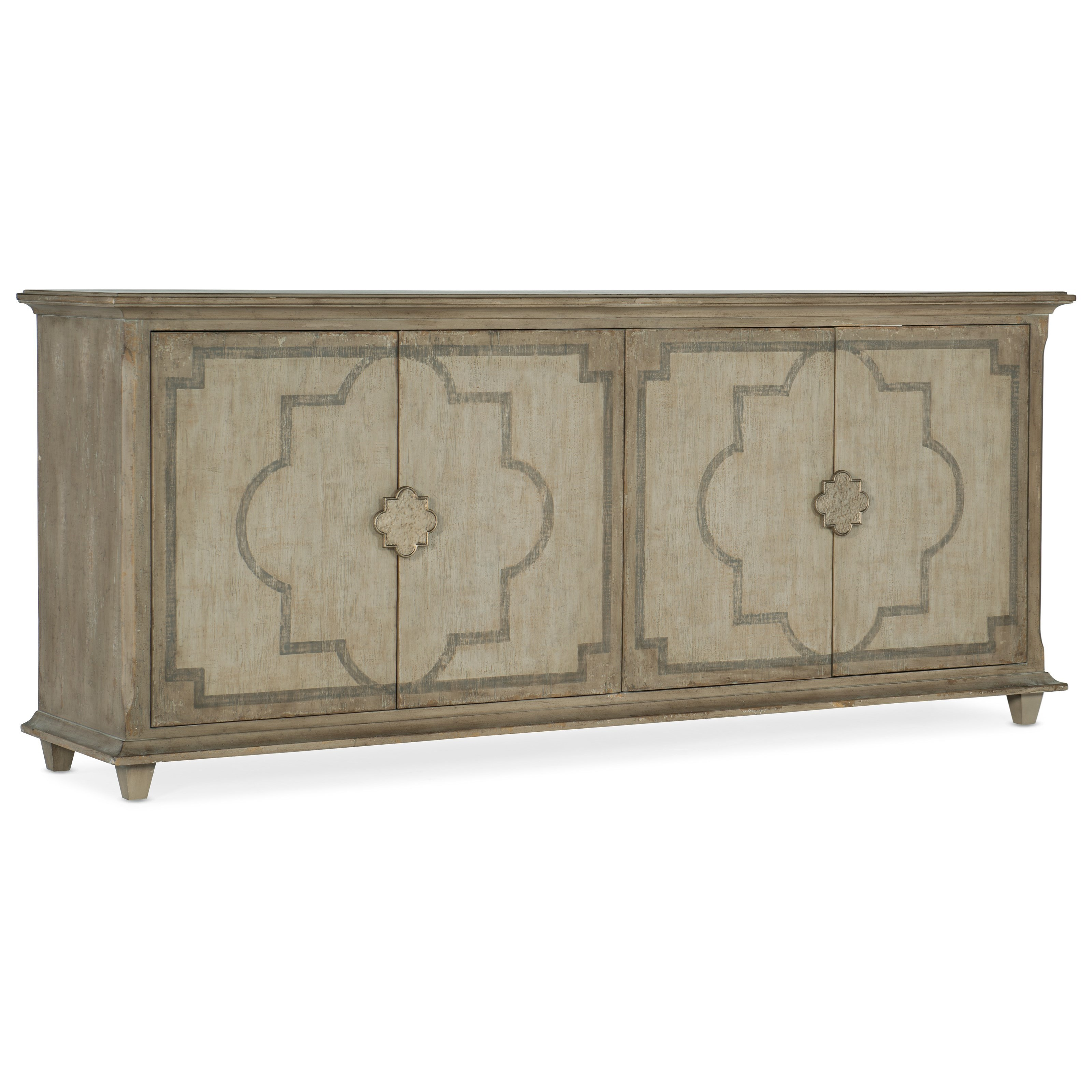 Alfresco Palazzo Entertainment Console by Hooker Furniture at Baer's Furniture