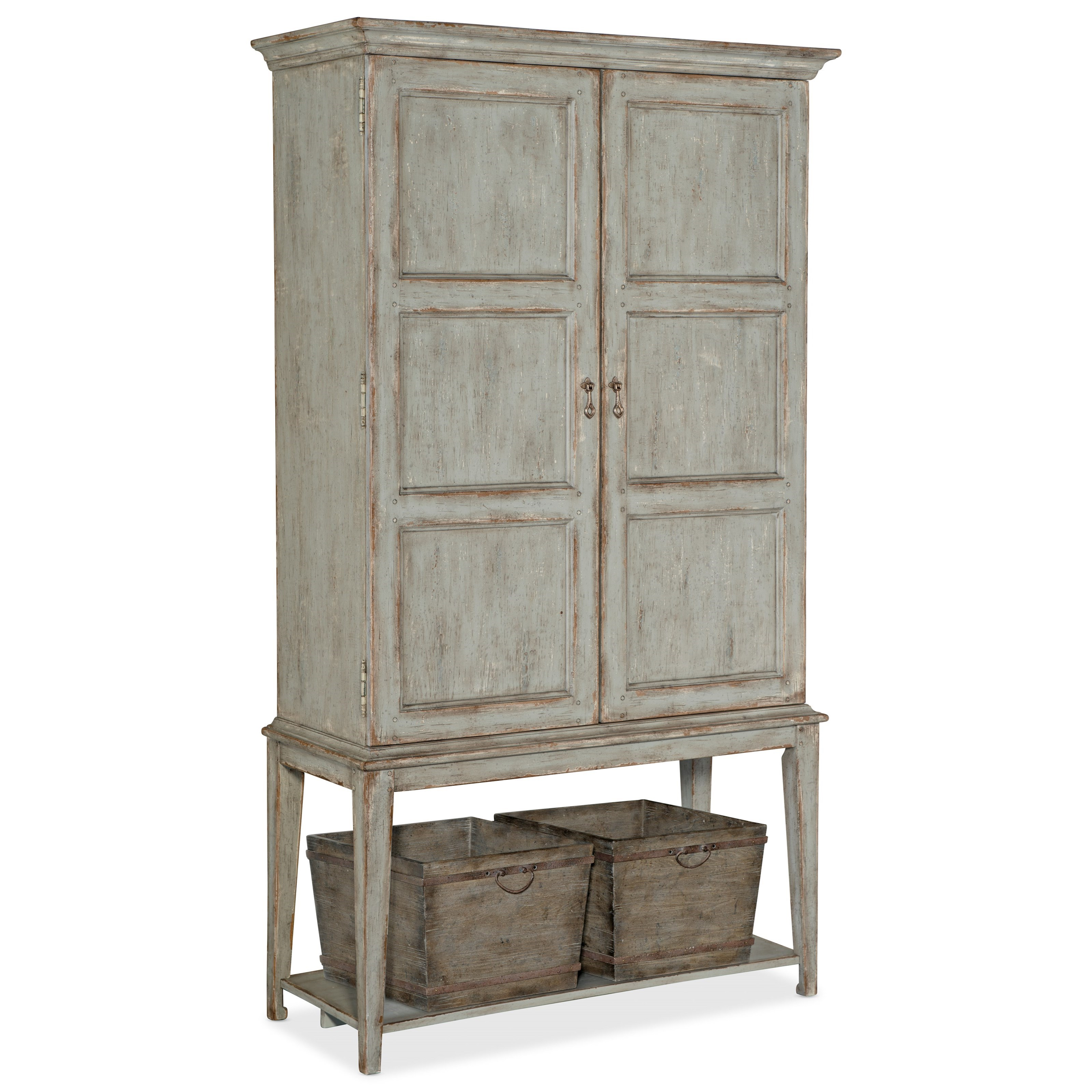 Alfresco Vino della Vita Vintners Cabinet by Hooker Furniture at Zak's Home