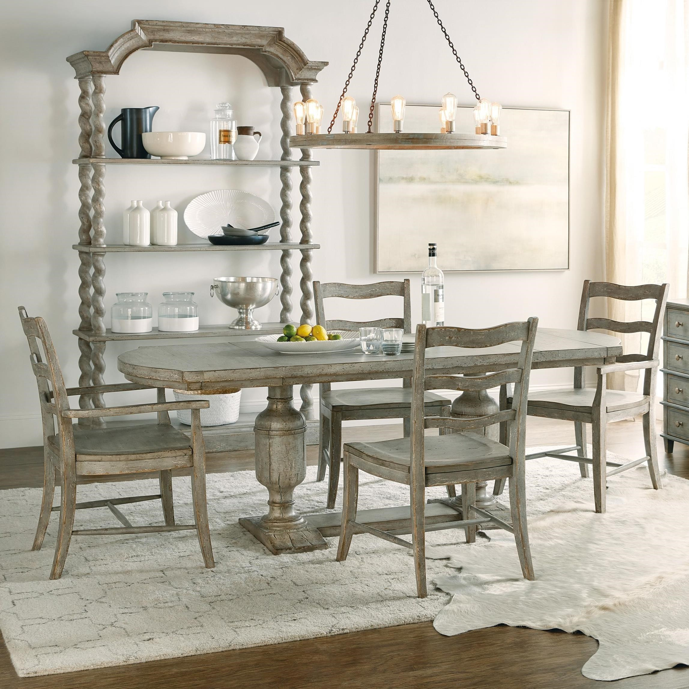 Alfresco 5-Piece Table and Chair Set by Hamilton Home at Sprintz Furniture