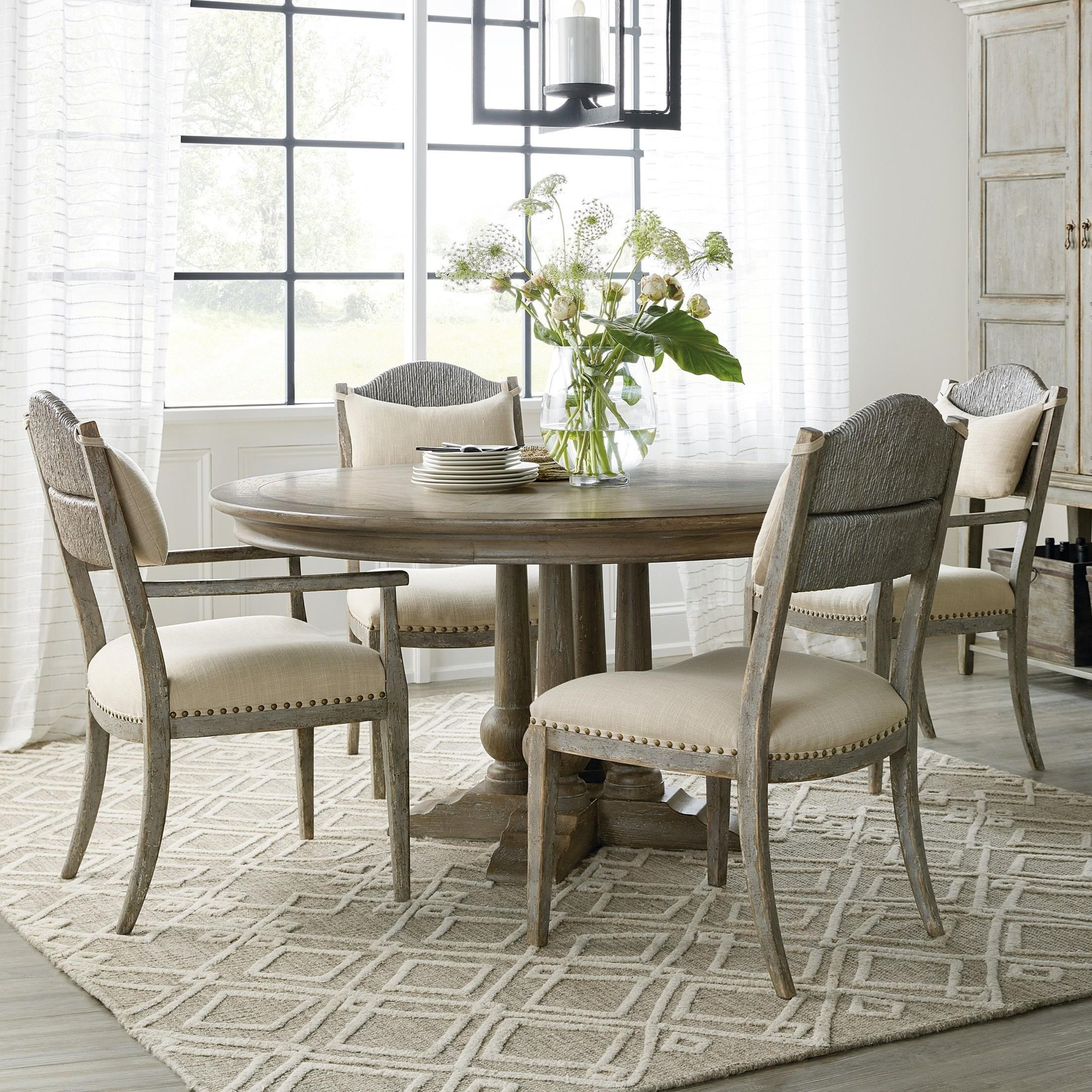 Alfresco 5-Piece Table and Chair Set by Hooker Furniture at Suburban Furniture