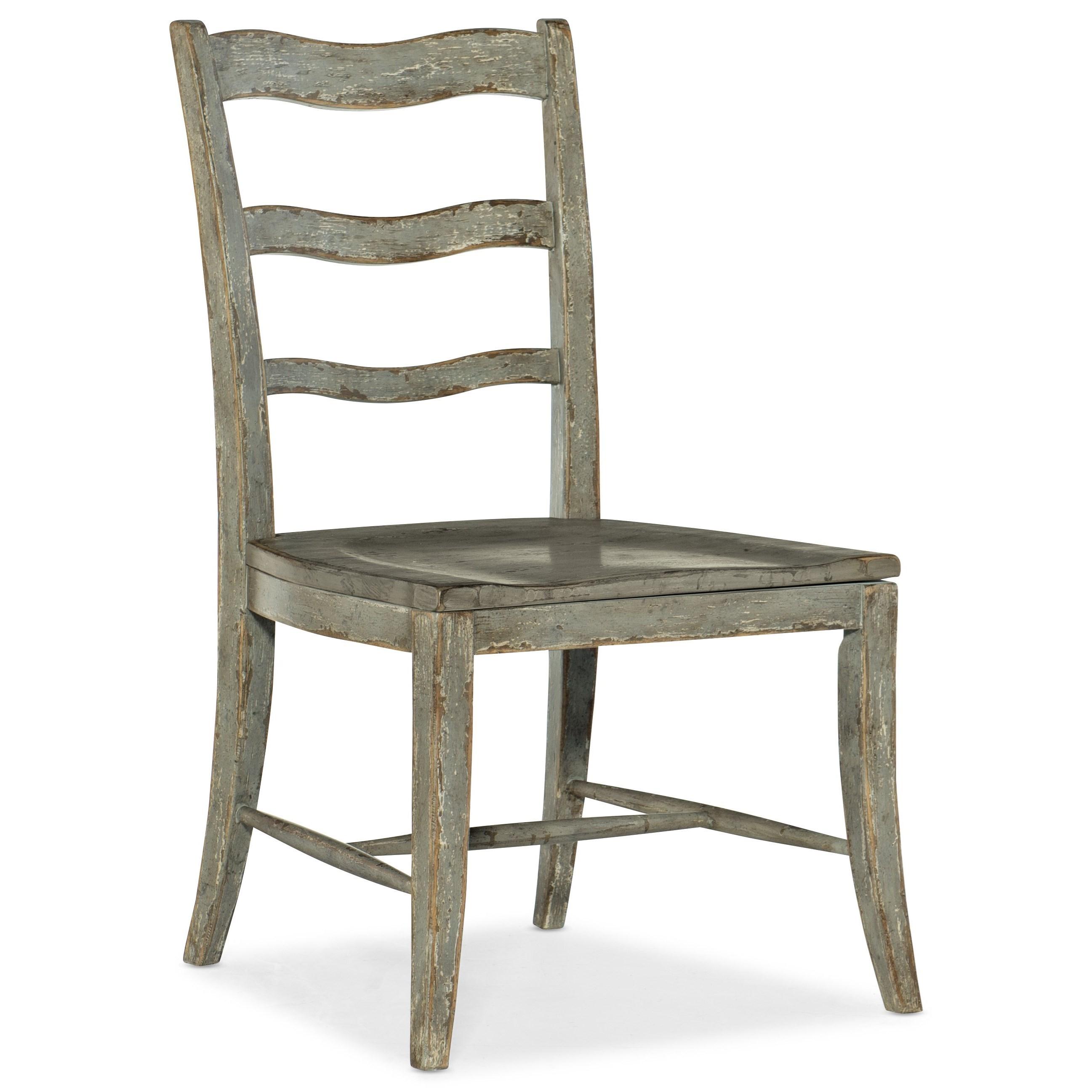 Alfresco La Riva Ladder Back Side Chair by Hooker Furniture at Stoney Creek Furniture