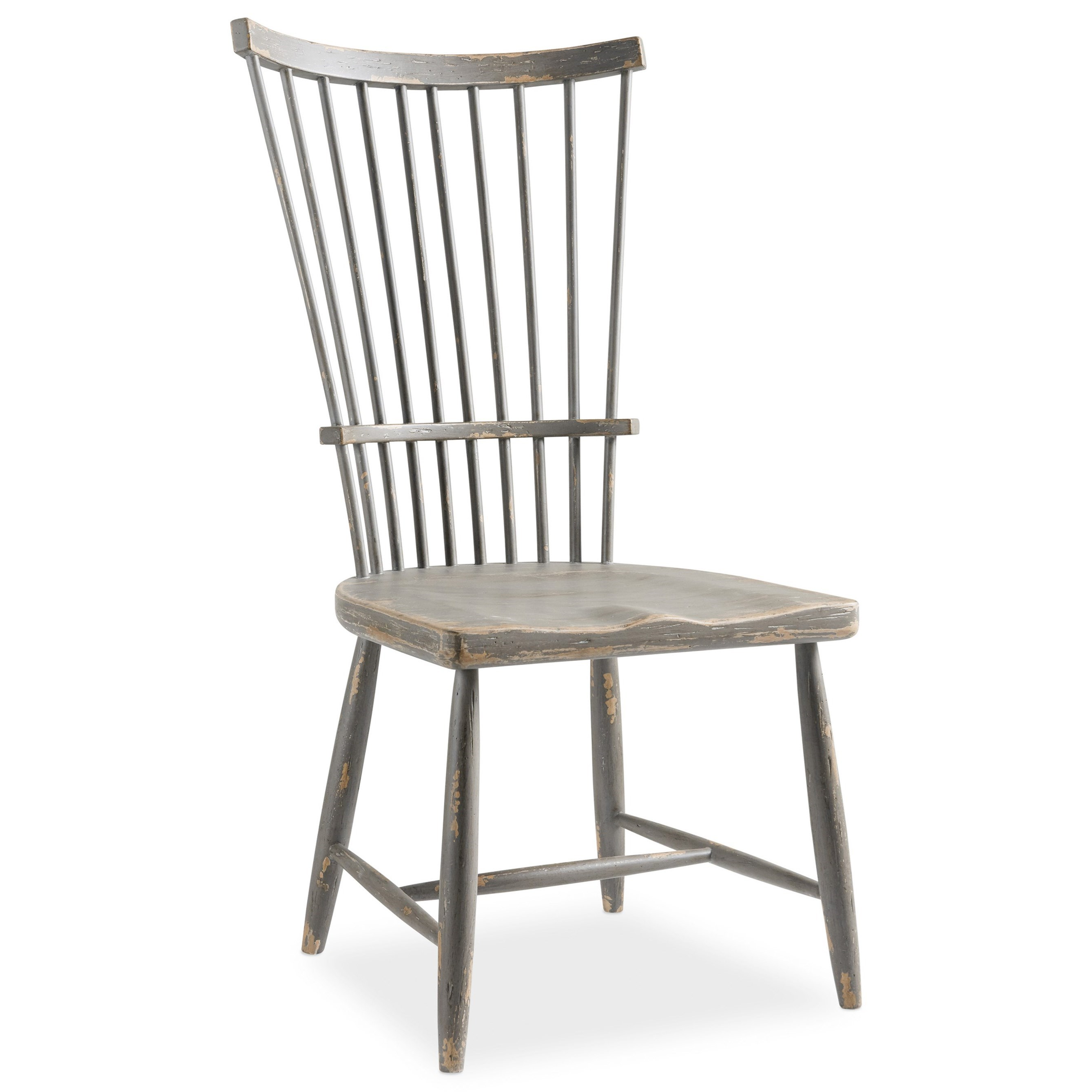 Alfresco Marzano Windsor Side Chair by Hooker Furniture at Miller Waldrop Furniture and Decor
