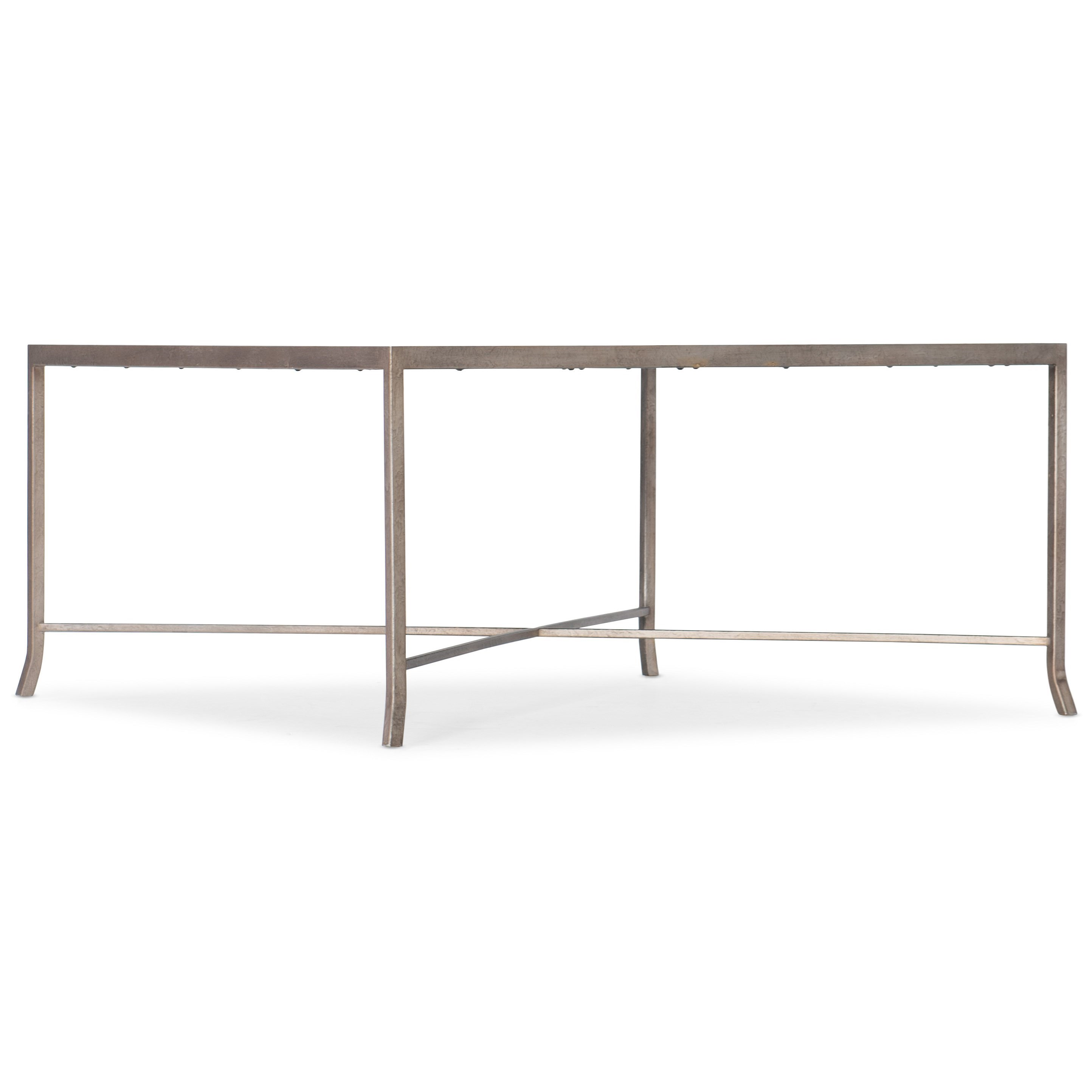 Alfresco Lapilli Carved Top Cocktail Table by Hooker Furniture at Suburban Furniture