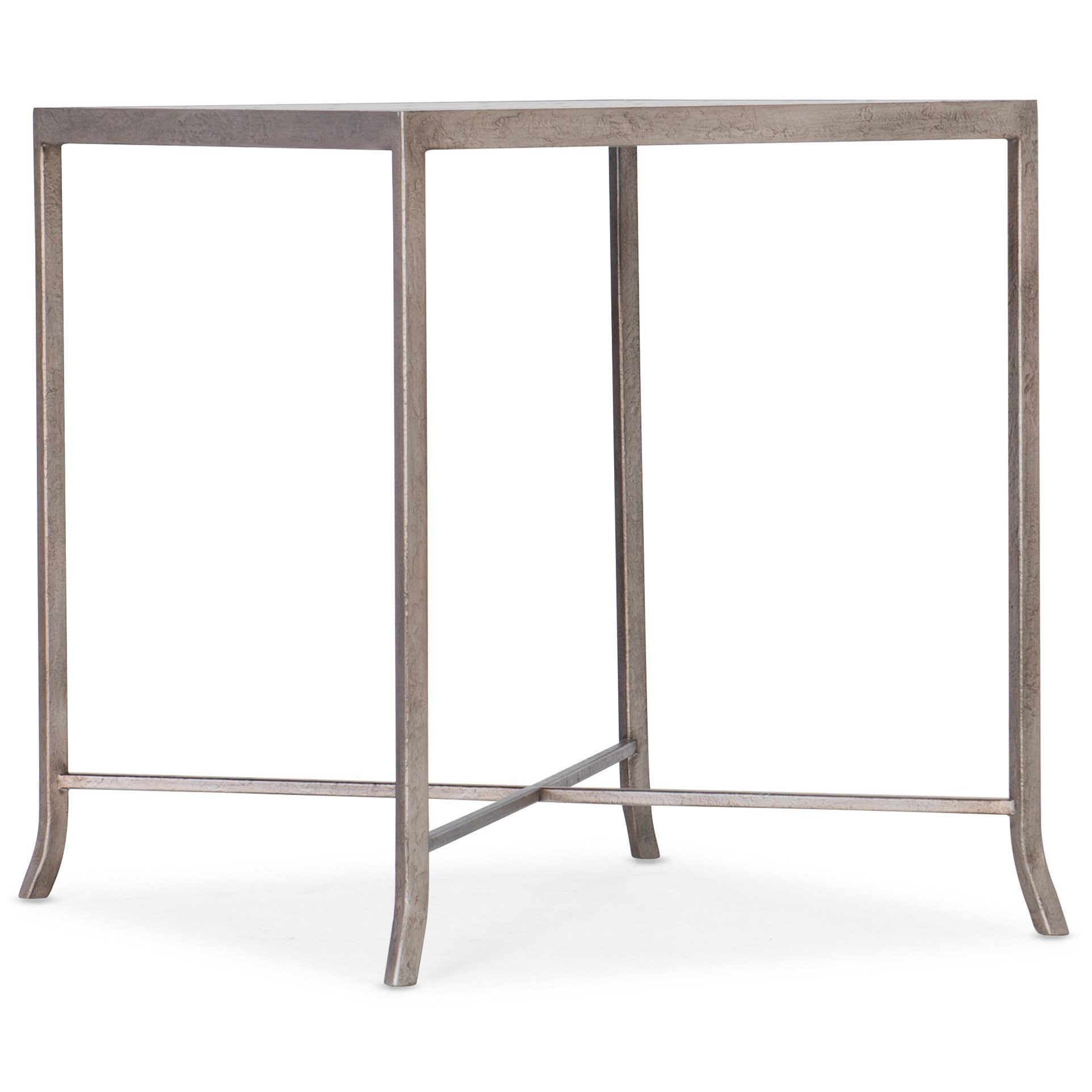 Alfresco Lapilli Carved Top End Table by Hooker Furniture at Miller Waldrop Furniture and Decor