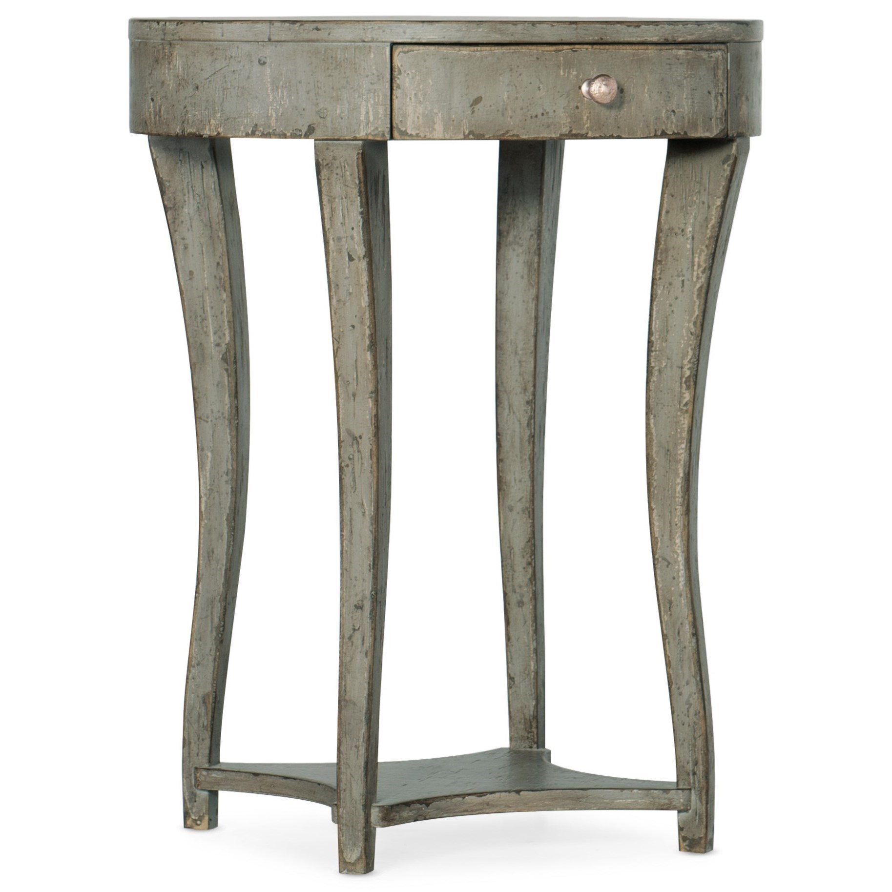 Alfresco La Sabbia One-Drawer Nightstand by Hooker Furniture at Alison Craig Home Furnishings