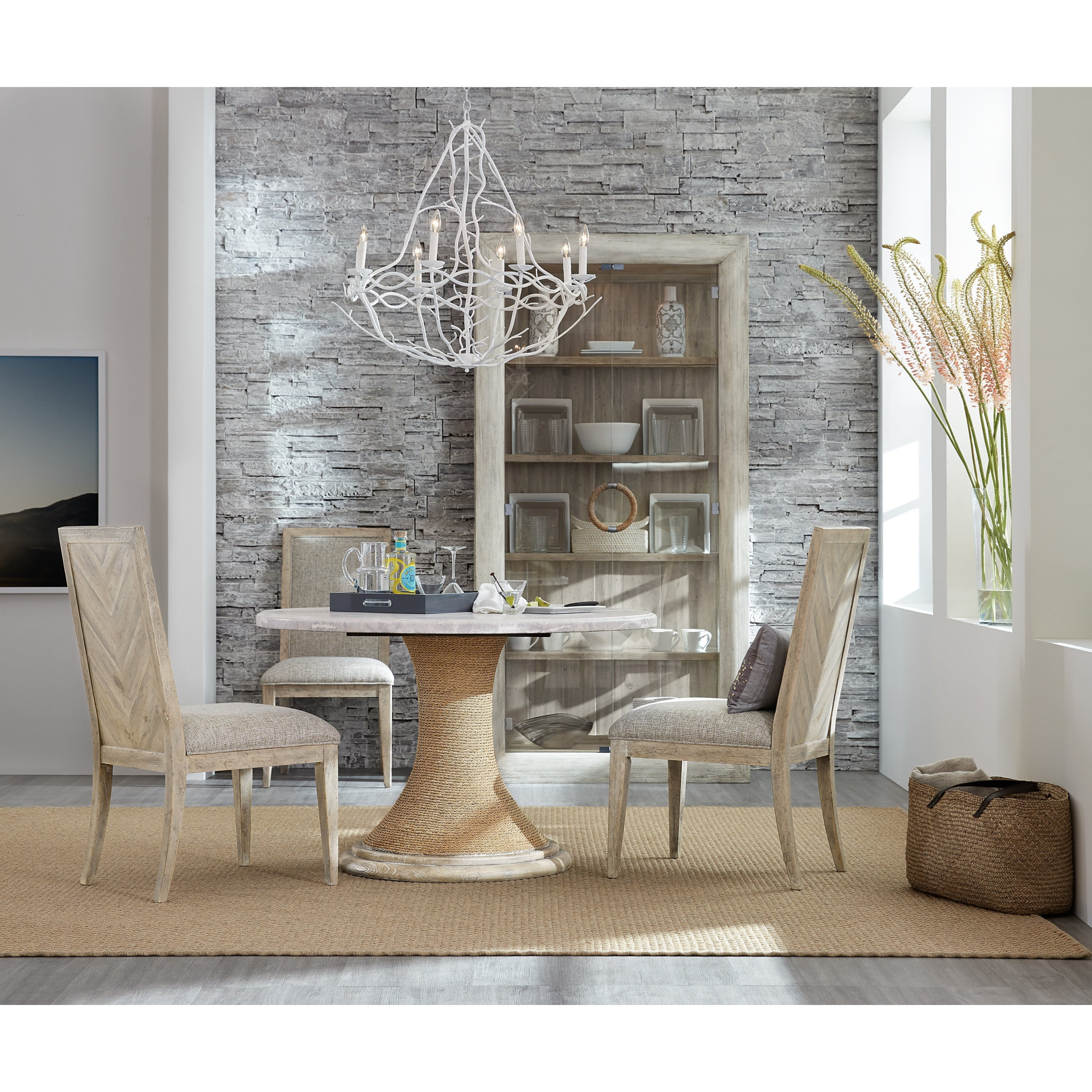 American Life-Amani Casual Dining Room Group by Hooker Furniture at Baer's Furniture