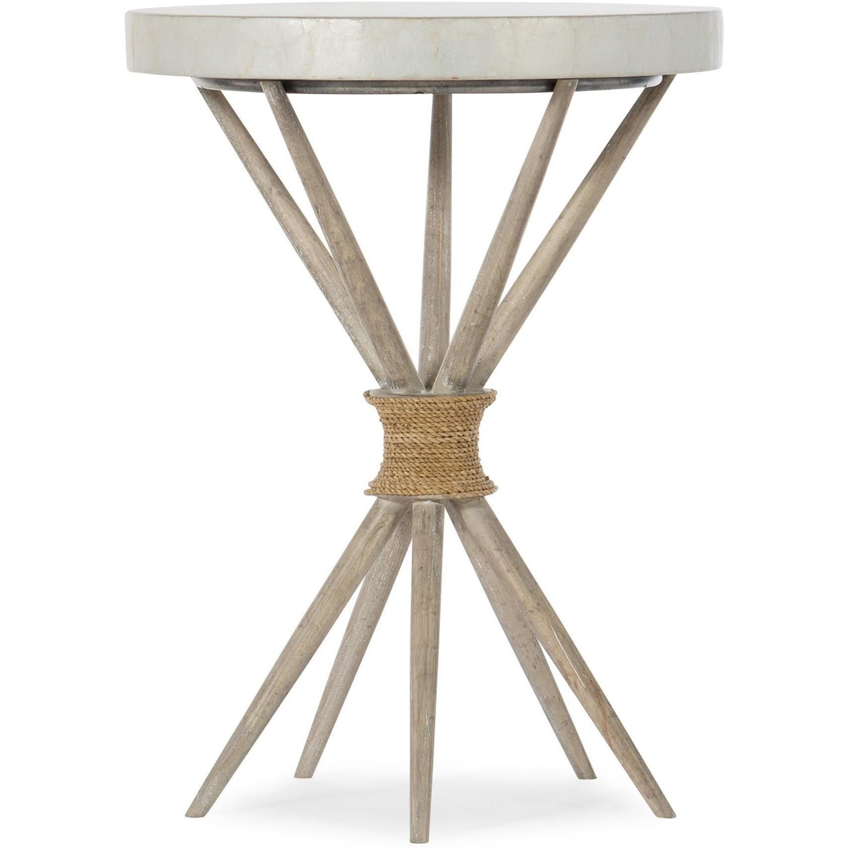 American Life-Amani Accent Table by Hooker Furniture at Fisher Home Furnishings