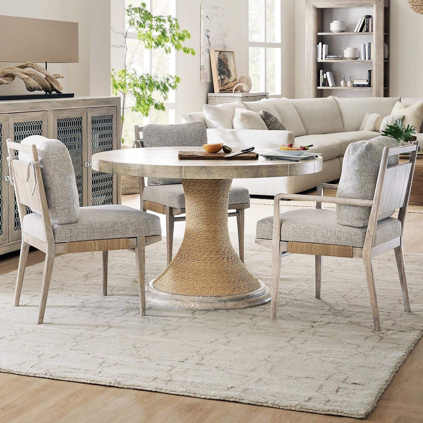 American Life-Amani 4-Piece Table and Chair Set by Hooker Furniture at Fisher Home Furnishings