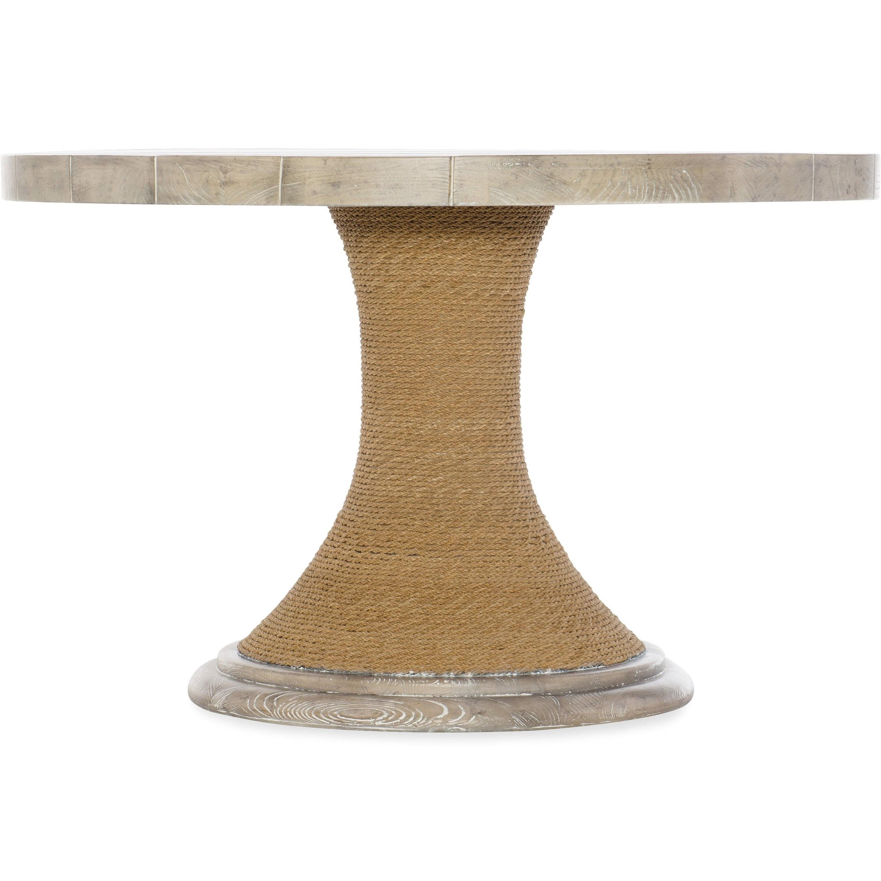 American Life-Amani 48-inch Round Pedestal Dining Table by Hooker Furniture at Fisher Home Furnishings