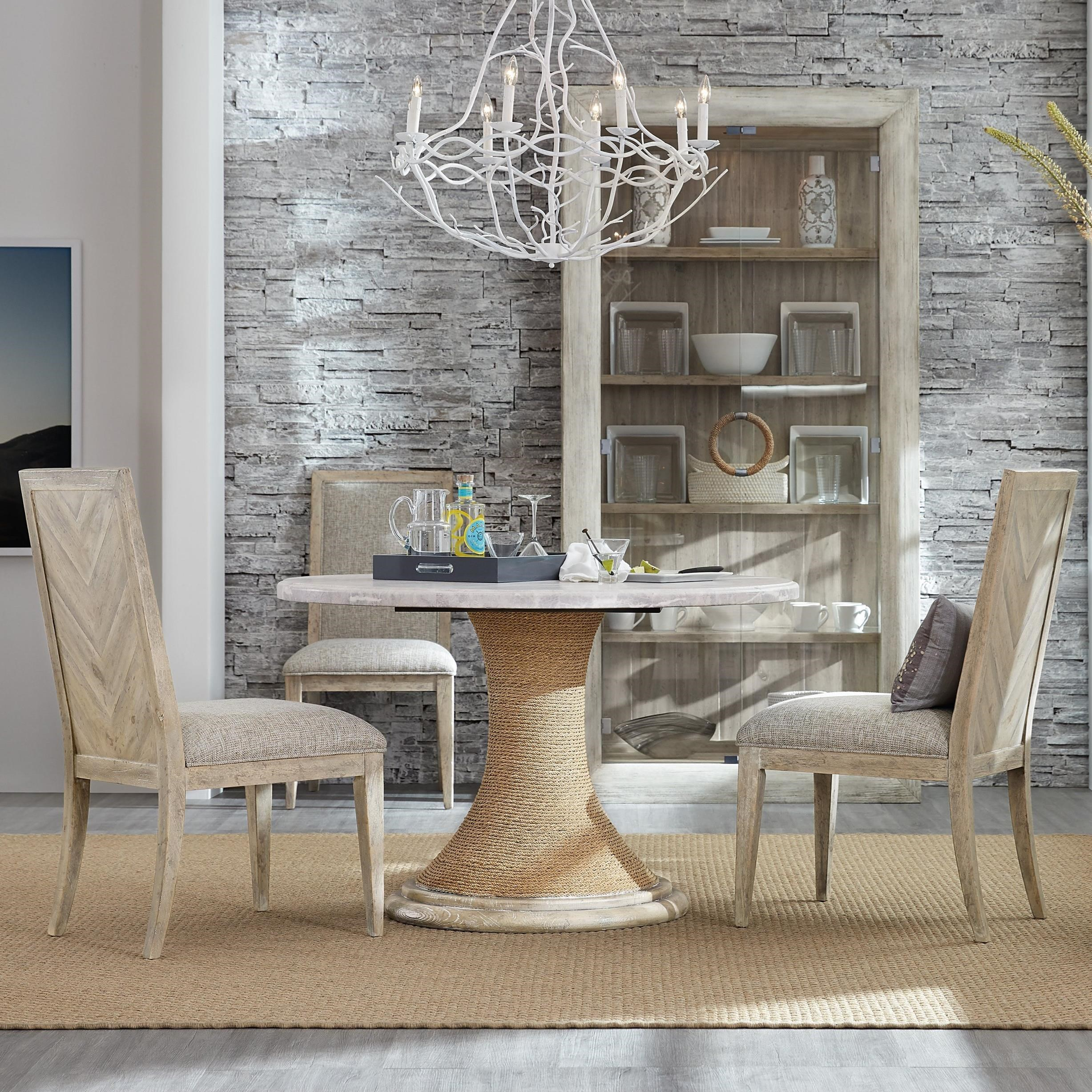 American Life-Amani 4-Piece Table and Chair Set at Williams & Kay