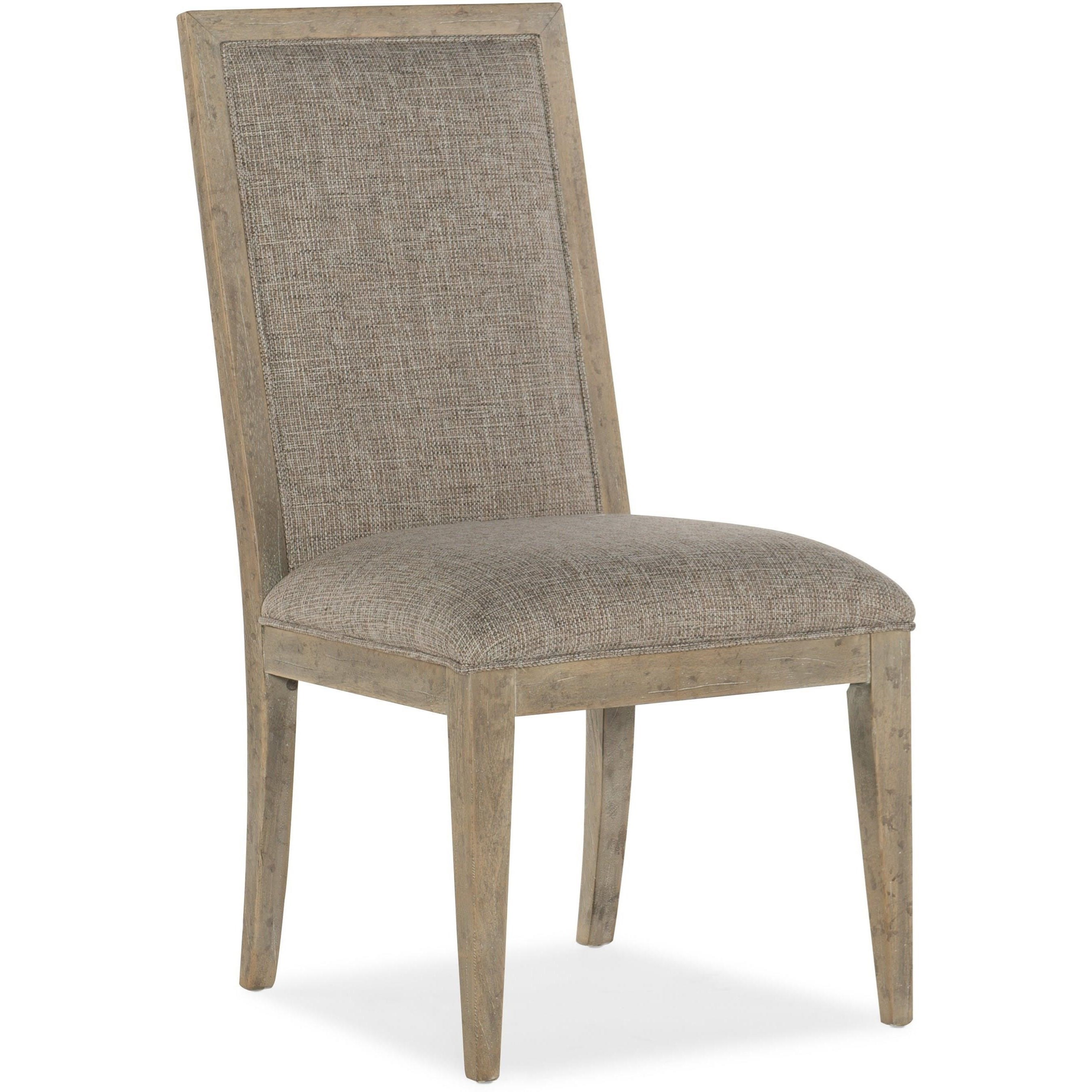 American Life-Amani Upholstered Side Chair by Hooker Furniture at Miller Waldrop Furniture and Decor