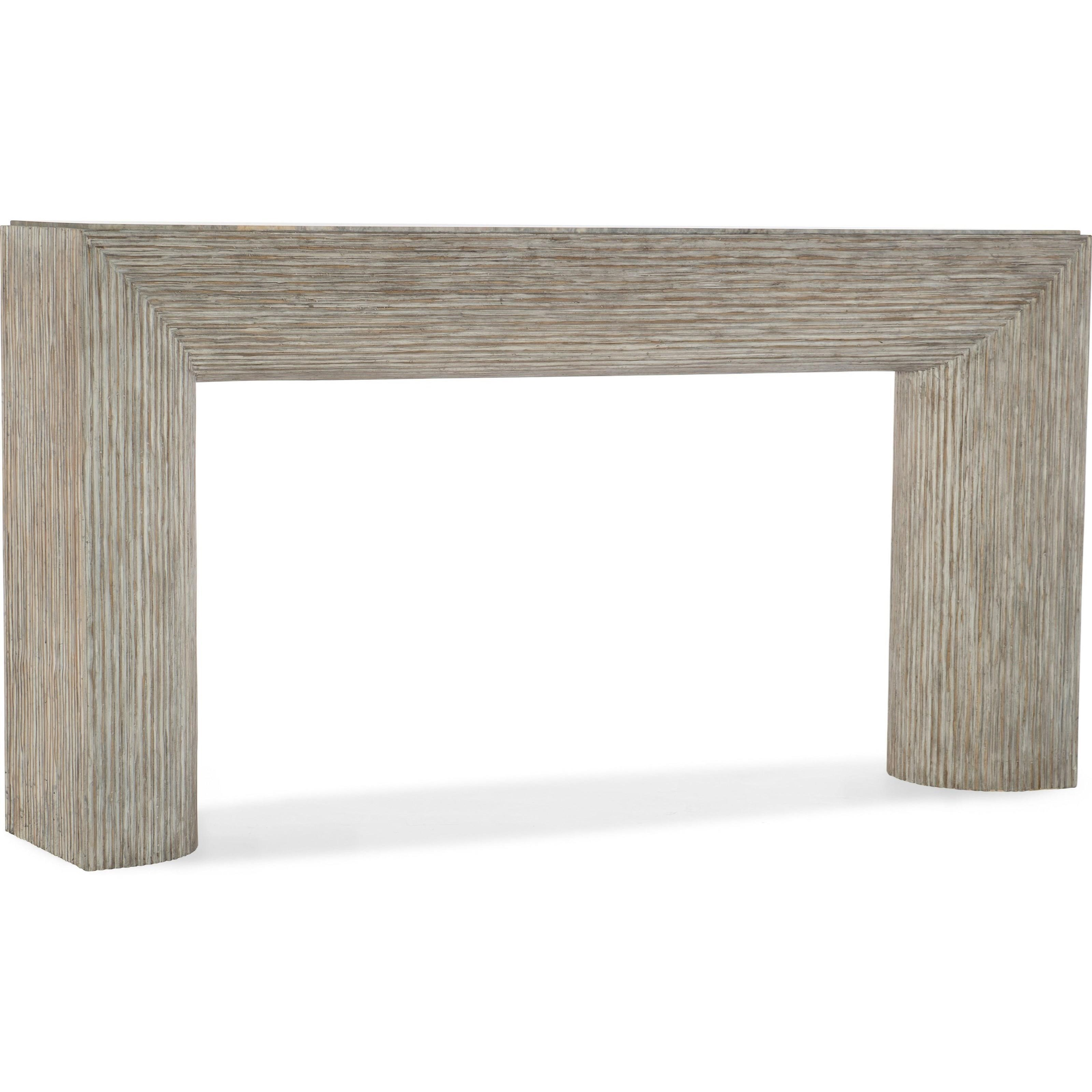 American Life-Amani Sofa Table by Hooker Furniture at Miller Waldrop Furniture and Decor