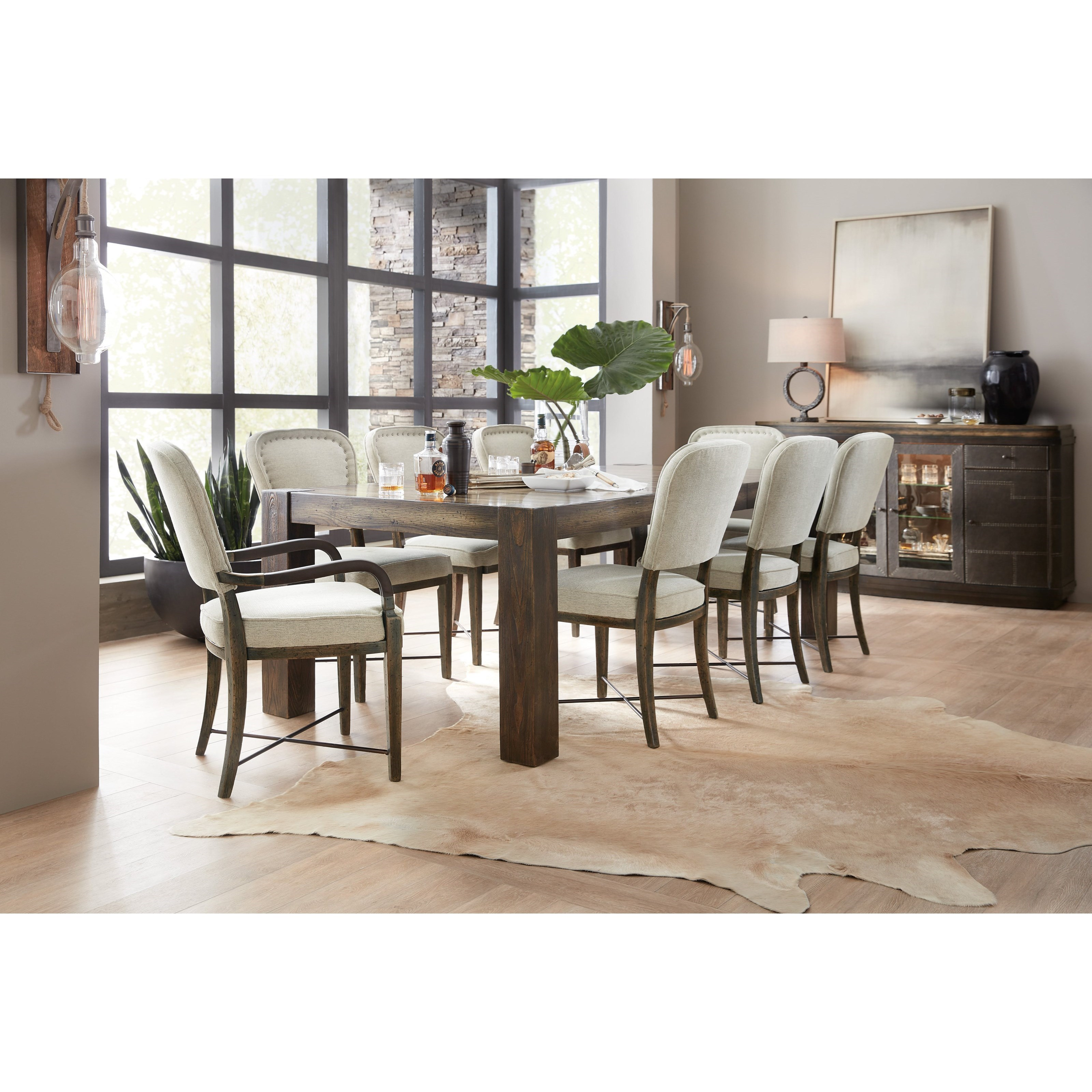 American Life-Crafted Formal Dining Room Group at Williams & Kay