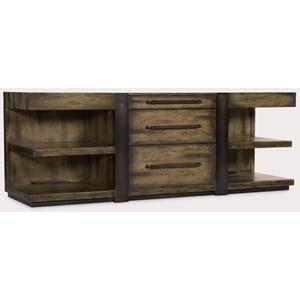 Leg Desk Credenza