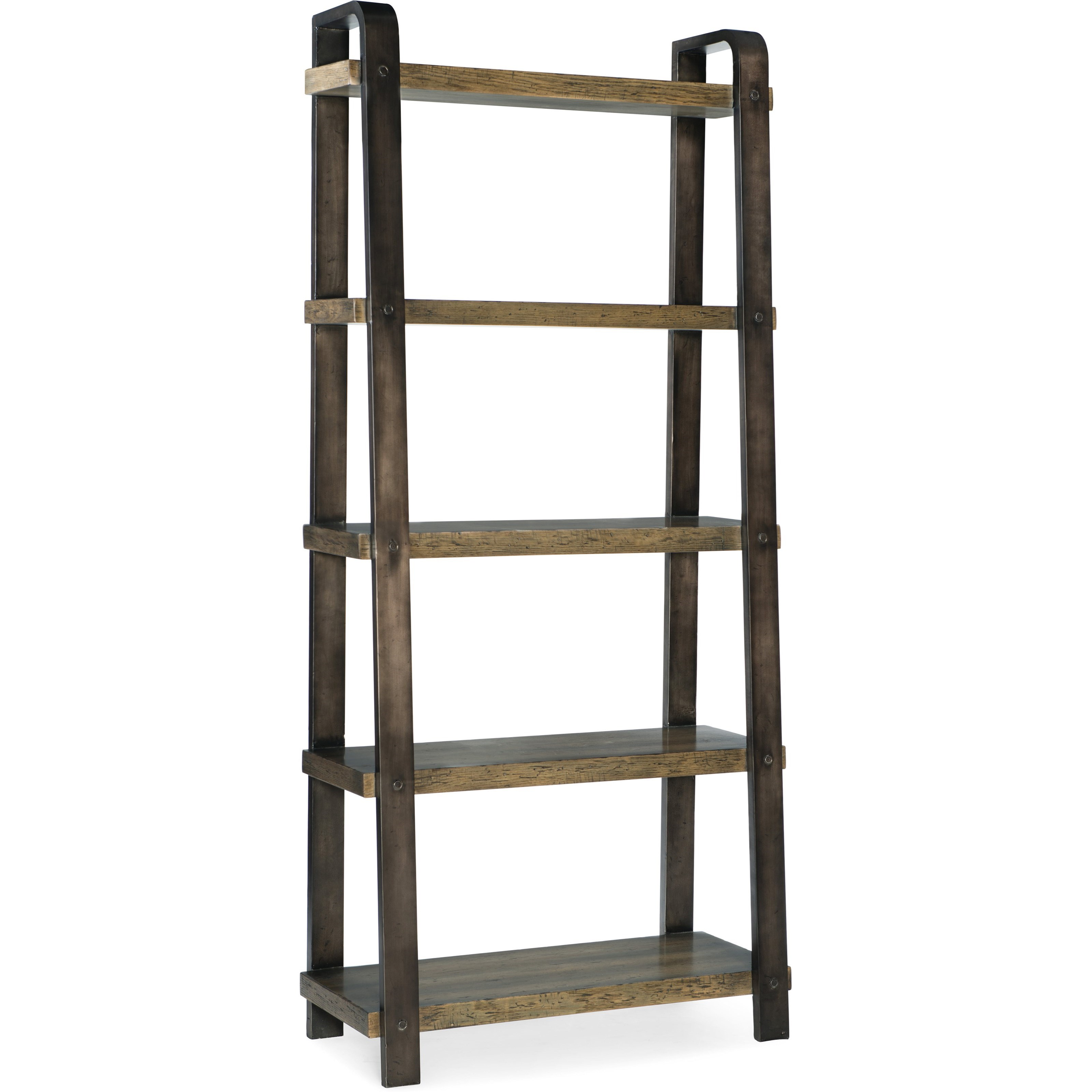 American Life-Crafted Bookcase by Hooker Furniture at Alison Craig Home Furnishings