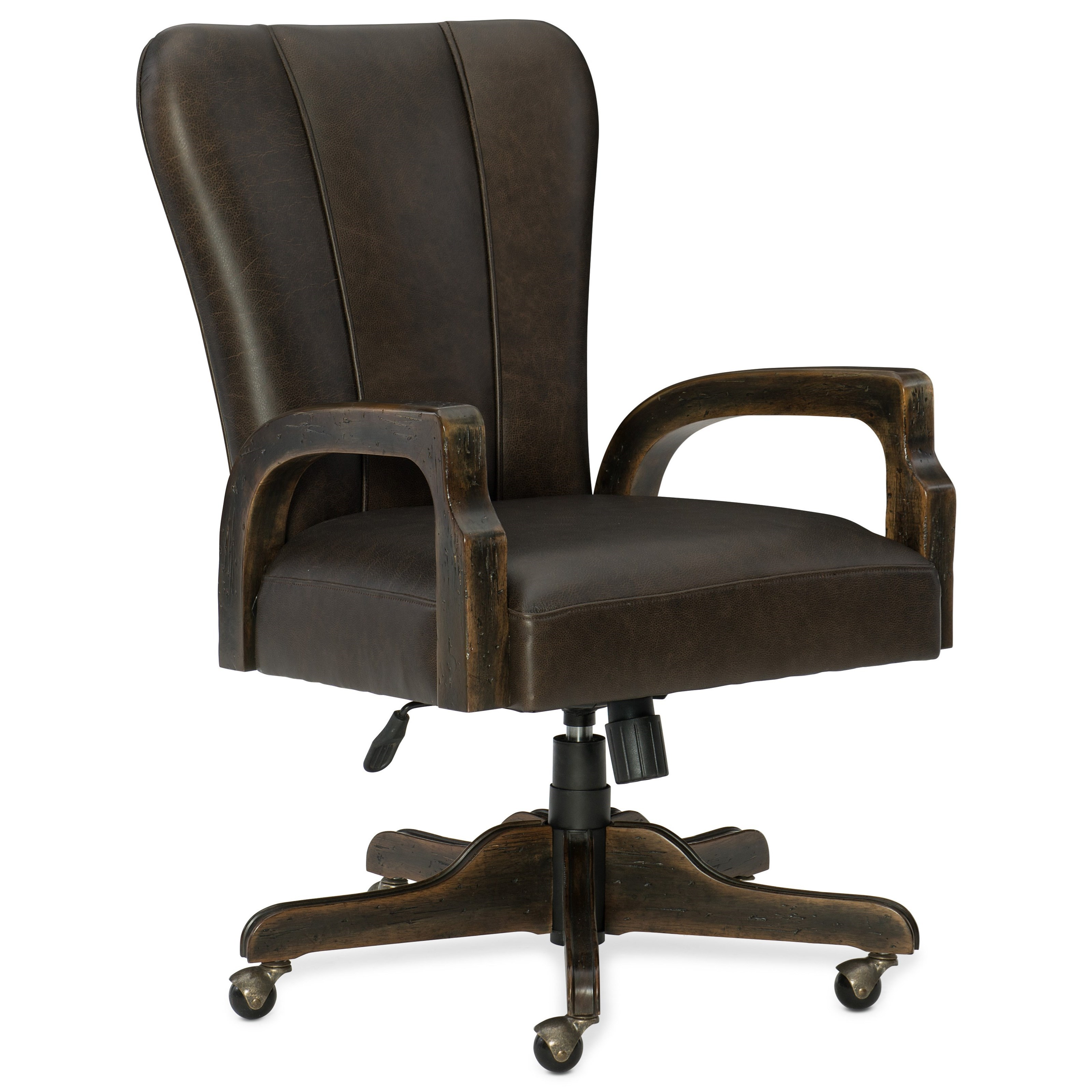 American Life-Crafted Desk Chair by Hooker Furniture at Zak's Home
