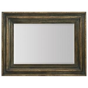 Vertical Wood Mirror