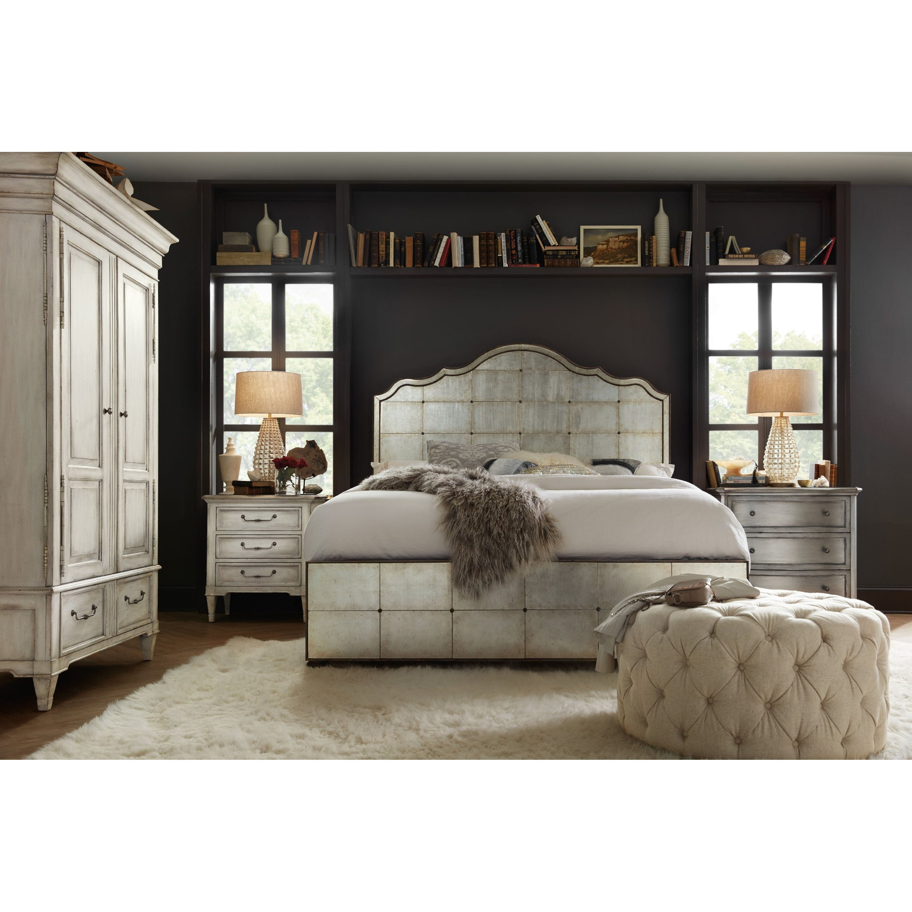 Arabella California King Bedroom Group by Hooker Furniture at Zak's Home