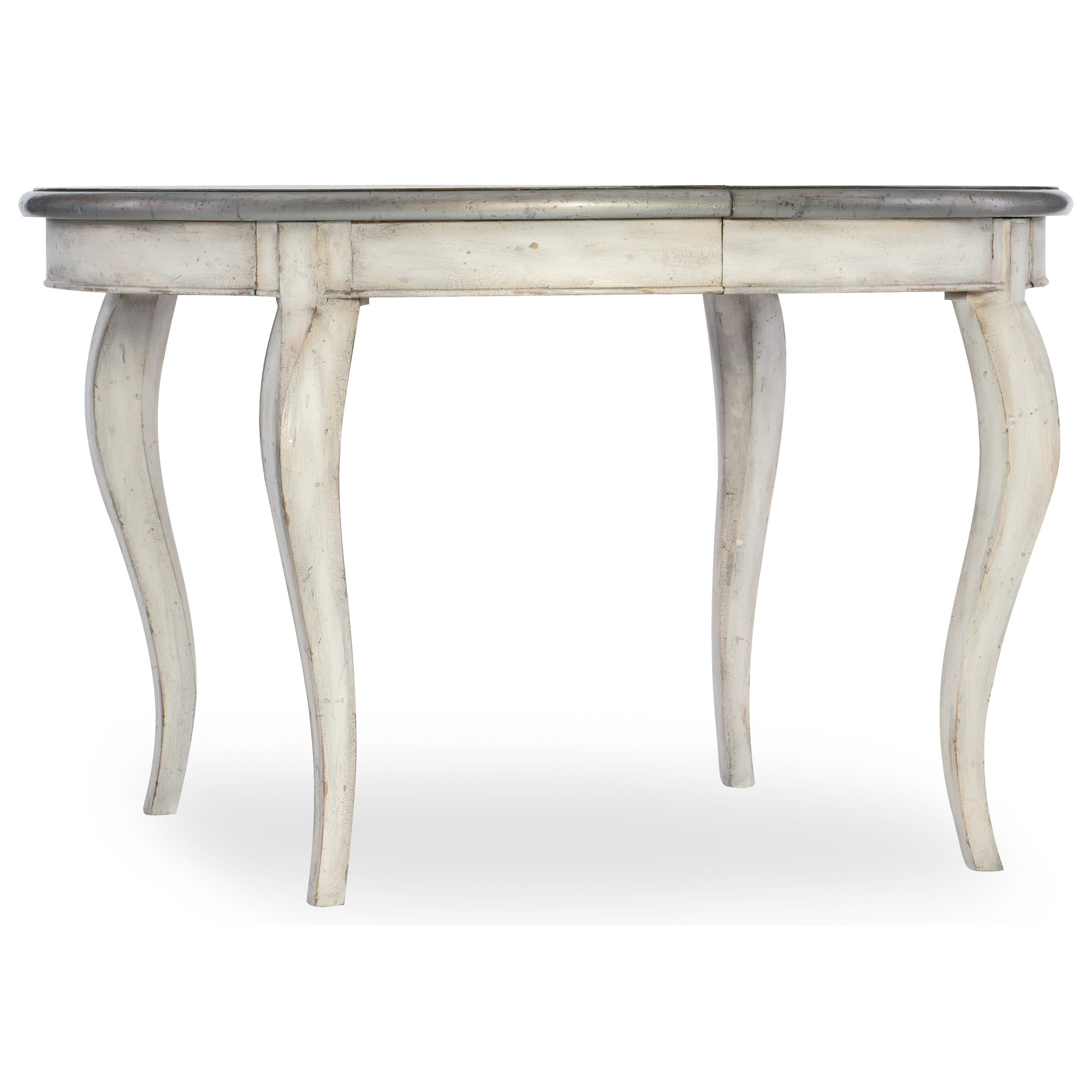 Arabella 48in Round Leg Table with 1-20in leaf by Hooker Furniture at Alison Craig Home Furnishings