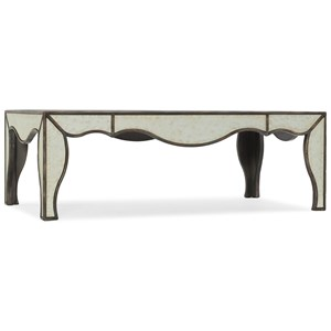 Mirrored Cocktail Table