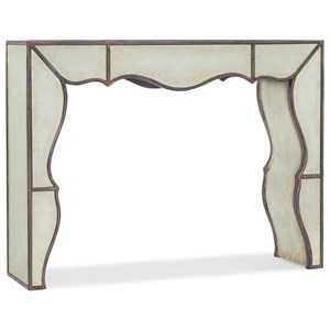 Mirrored Hall Console