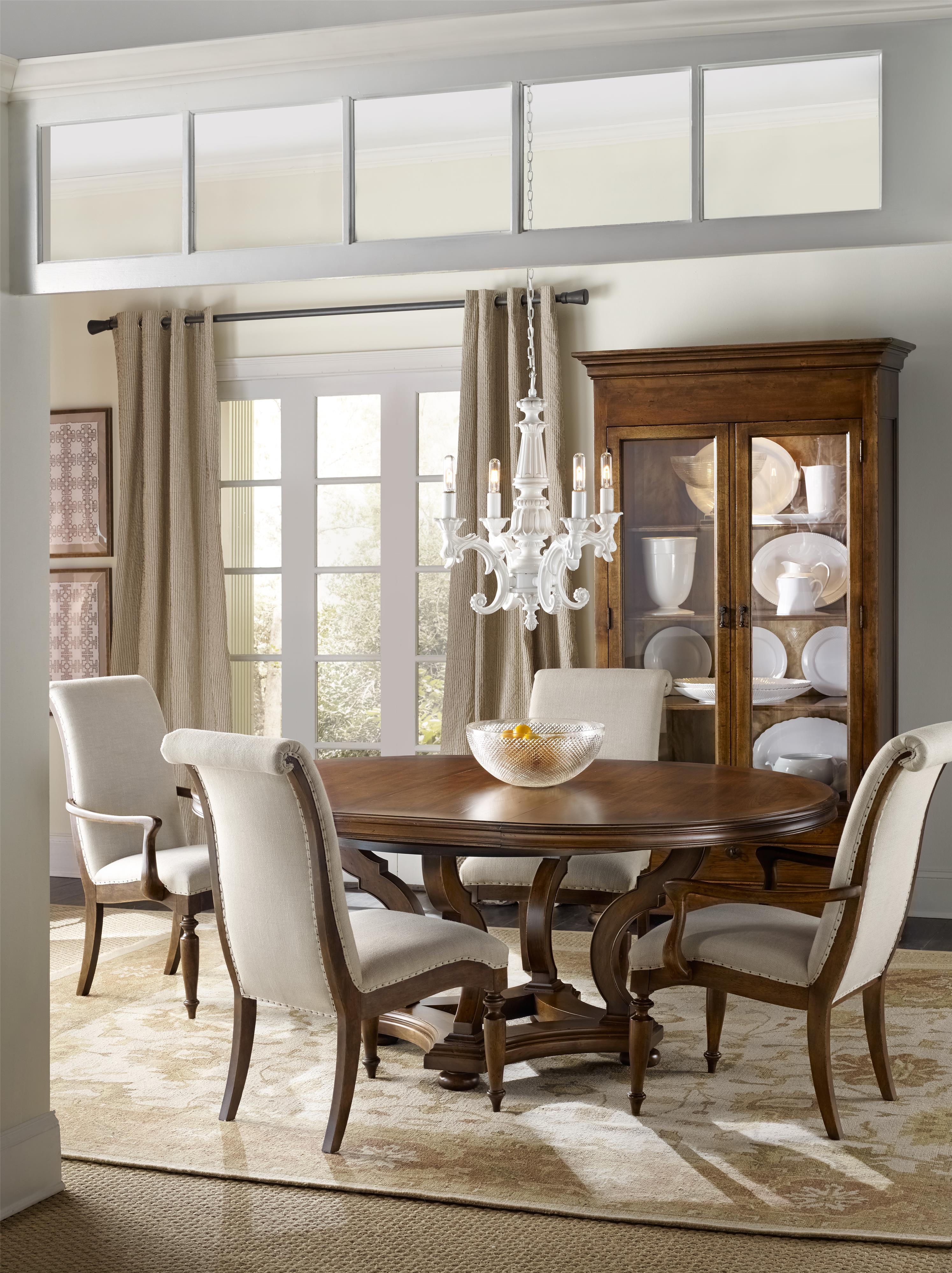 Archivist Dining Room Group by Hooker Furniture at Miller Waldrop Furniture and Decor