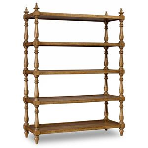 Accent Etagere with Turned Frame