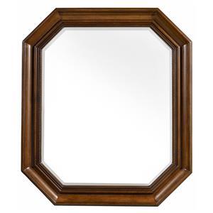 Octagonal Portrait Mirror