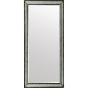 Metal Wrapped Floor Mirror