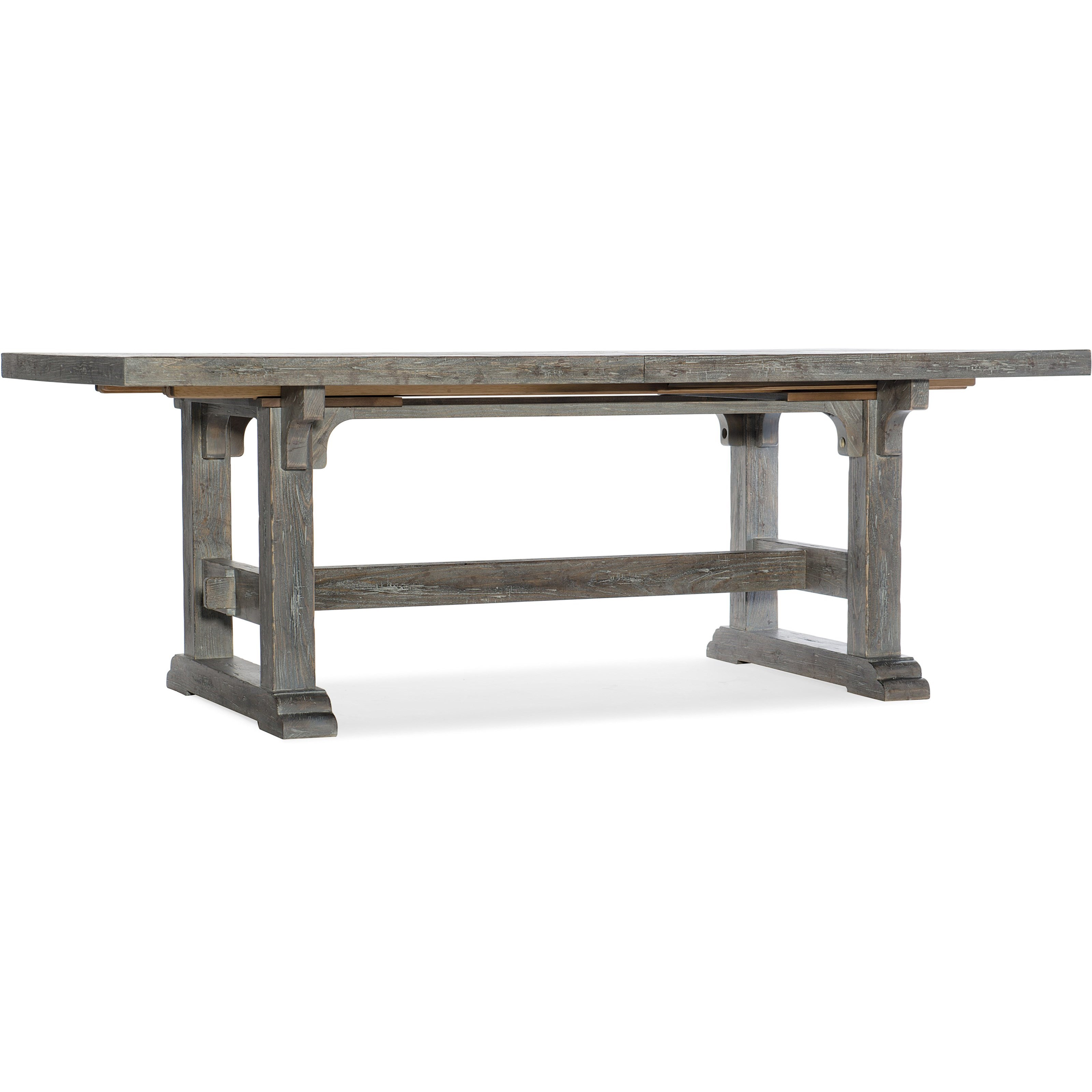 Beaumont Rectangular Dining Table w/ 2 22in Leaves by Hooker Furniture at Alison Craig Home Furnishings