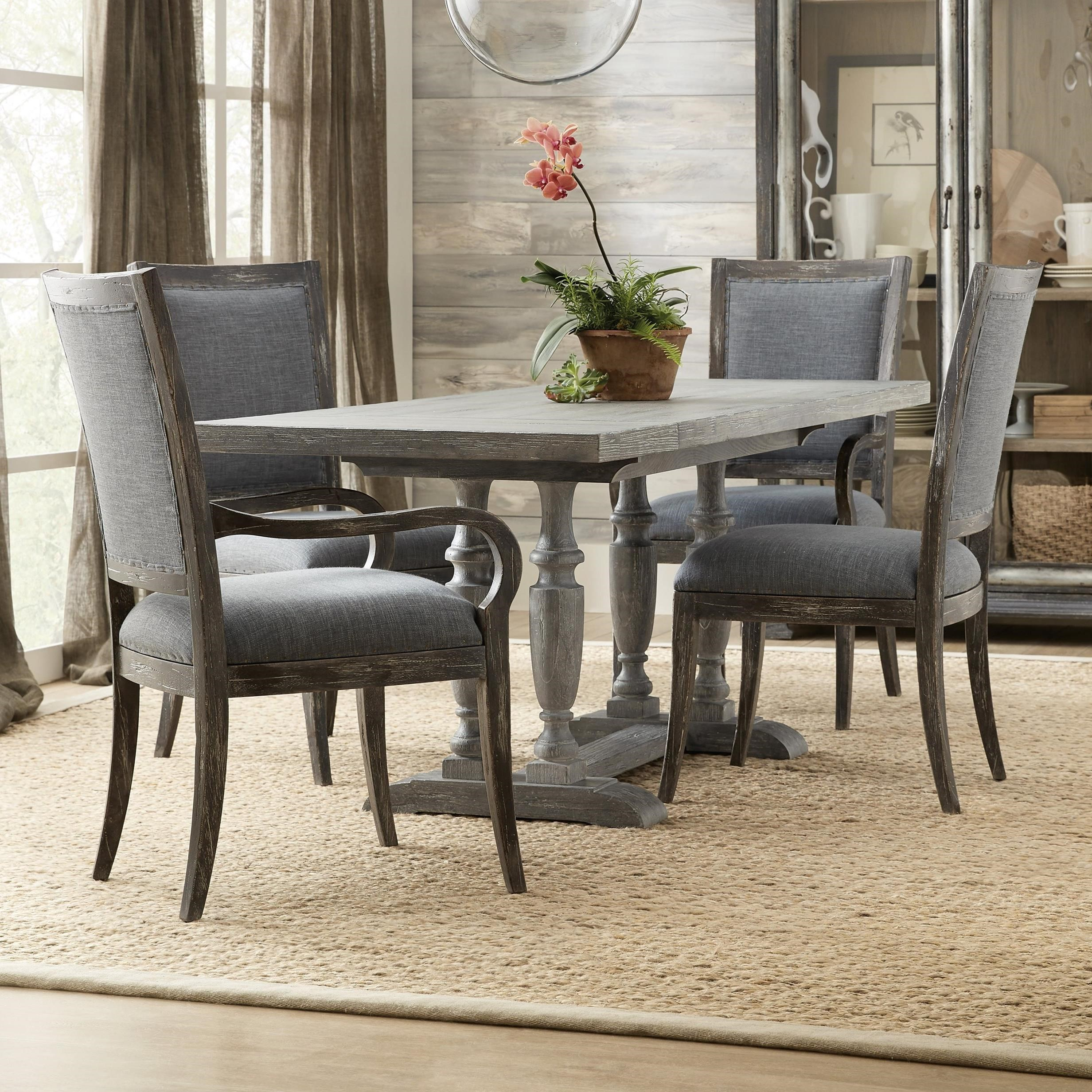 Beaumont 5-Piece Pub Table and Chair Set by Hooker Furniture at Miller Waldrop Furniture and Decor