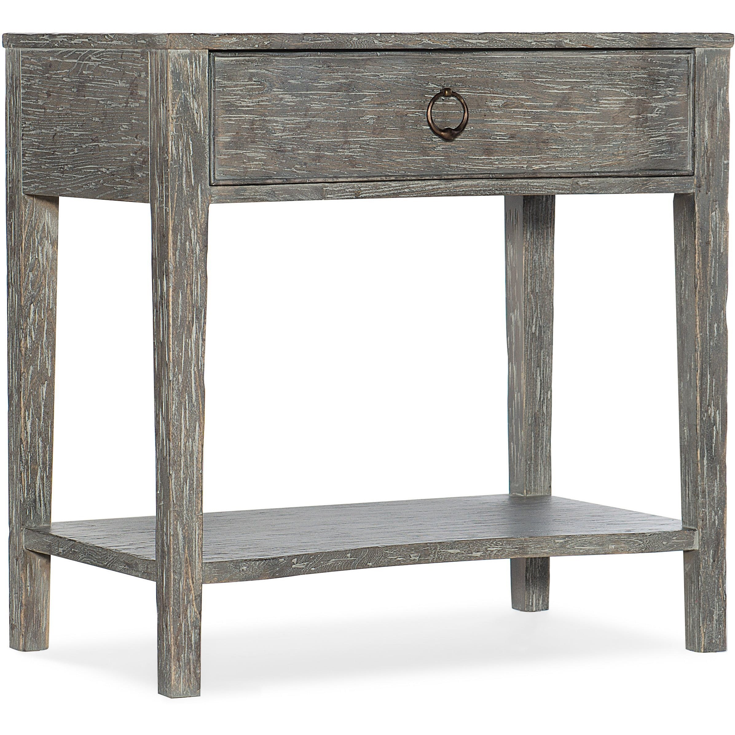 Beaumont One-Drawer Nightstand by Hooker Furniture at Alison Craig Home Furnishings