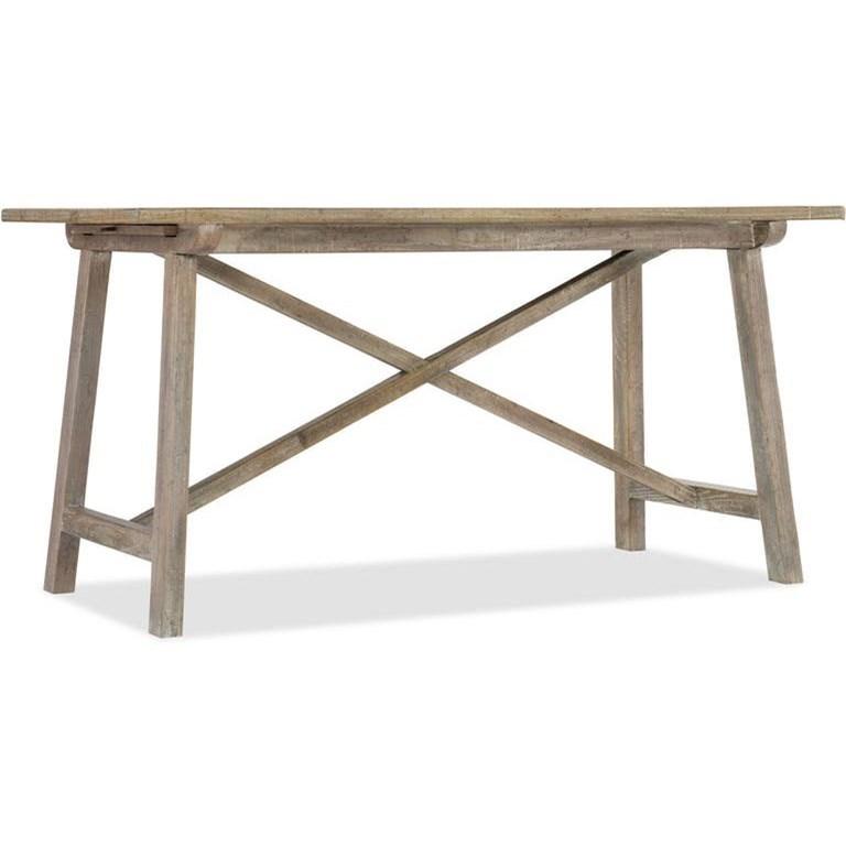 Boheme X Base Writing Desk by Hooker Furniture at Stoney Creek Furniture