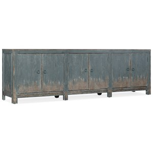 Rustic Salvator Media Console