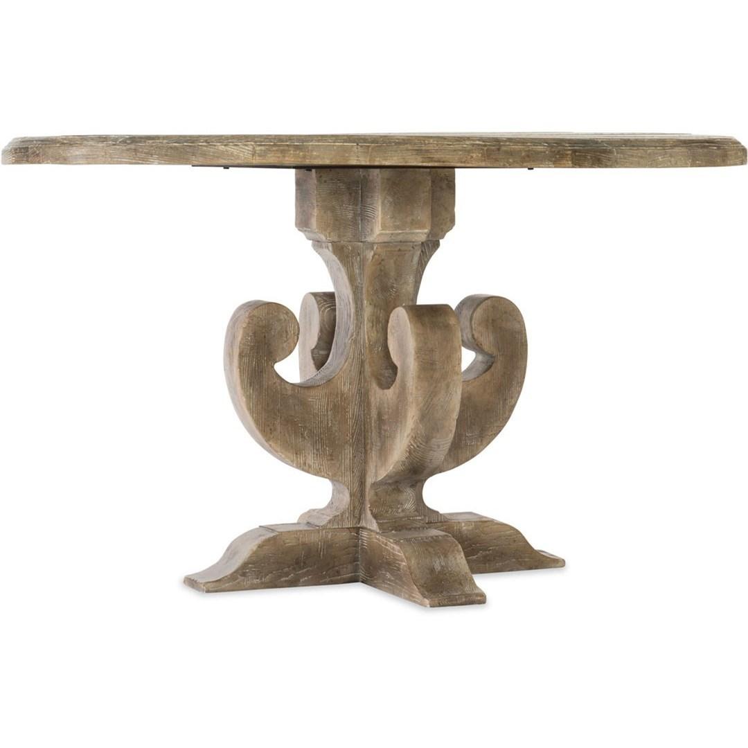 Boheme Adjustable Round Dining Table by Hooker Furniture at Baer's Furniture