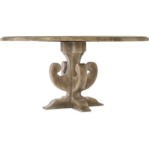 Ascension 60in Wood Round Dining Table