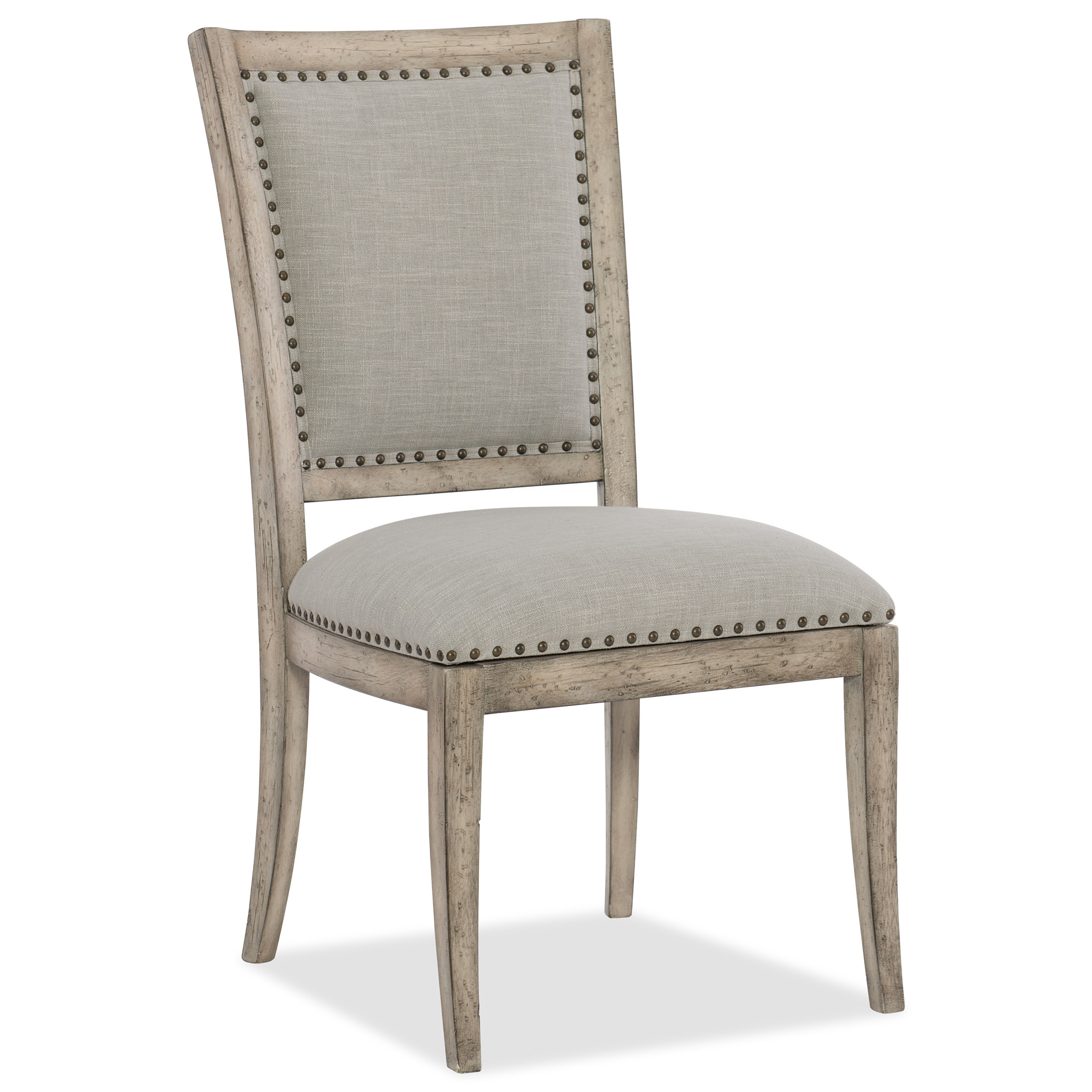 Boheme Vitton Upholstered Side Chair by Hooker Furniture at Stoney Creek Furniture