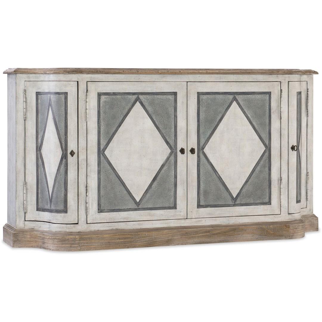 Boheme 4 Door Dining Server by Hooker Furniture at Baer's Furniture