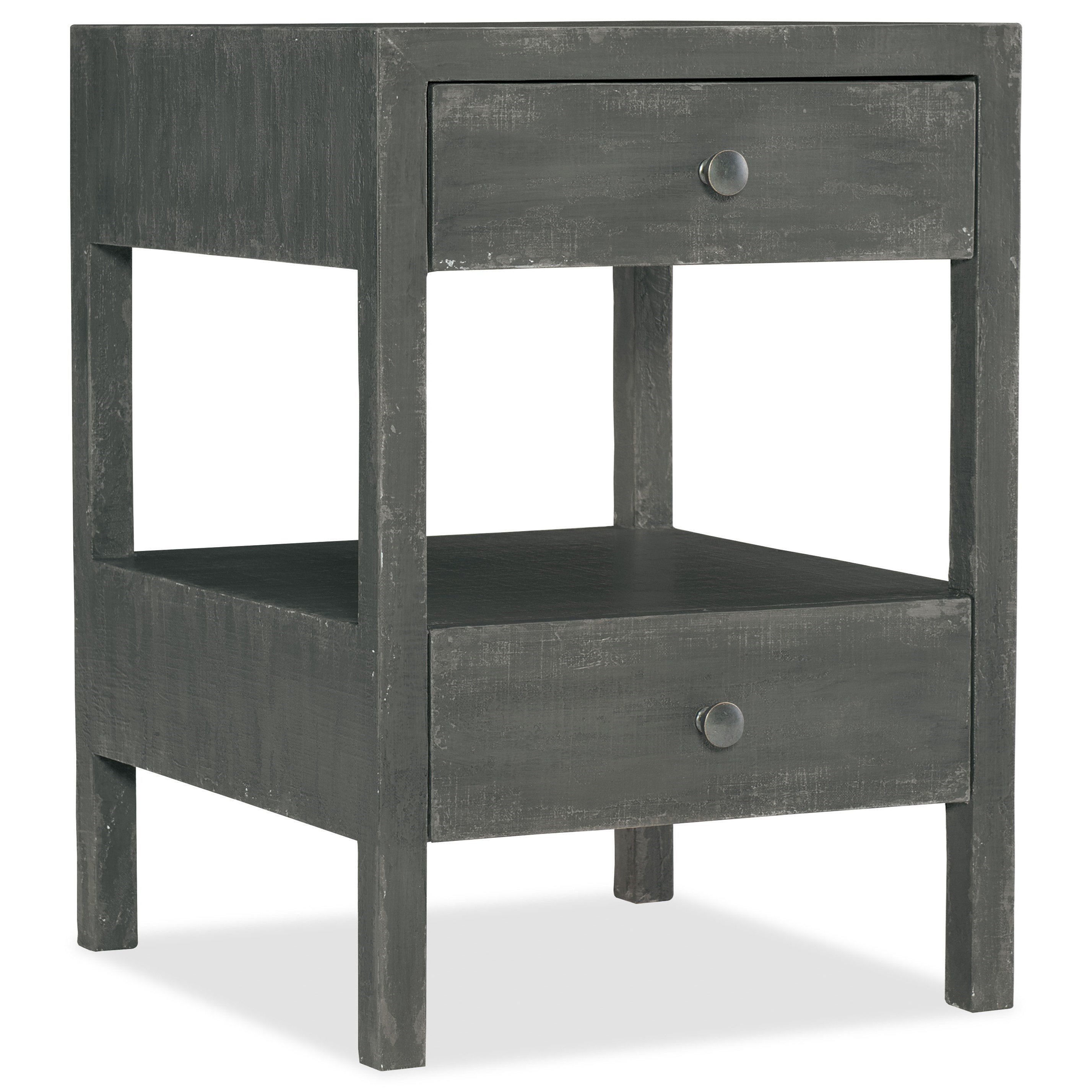 Boheme Brussels Two-Drawer Nightstand by Hooker Furniture at Baer's Furniture