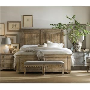 Laurier King Panel Bed