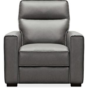 Leather Recliner w/ Power Headrest