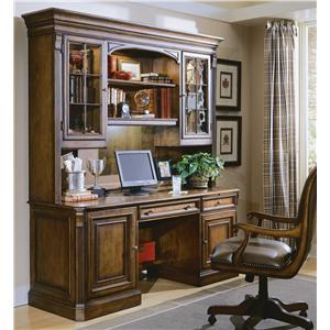 Hooker Furniture Brookhaven Credenza & Hutch